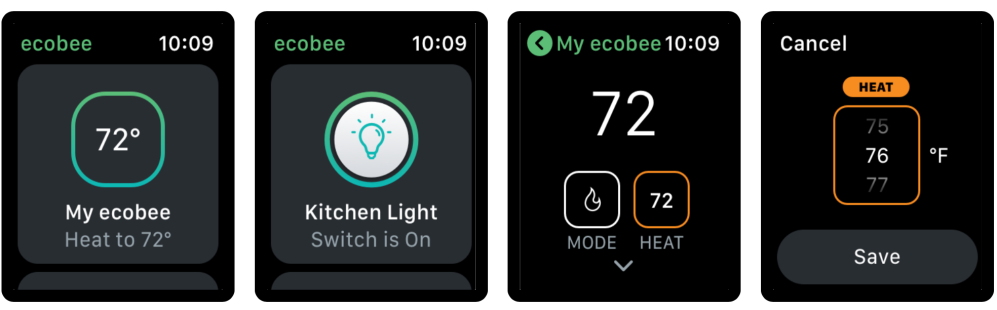 Ecobee on iOS updated with new Apple Watch app for smart home control