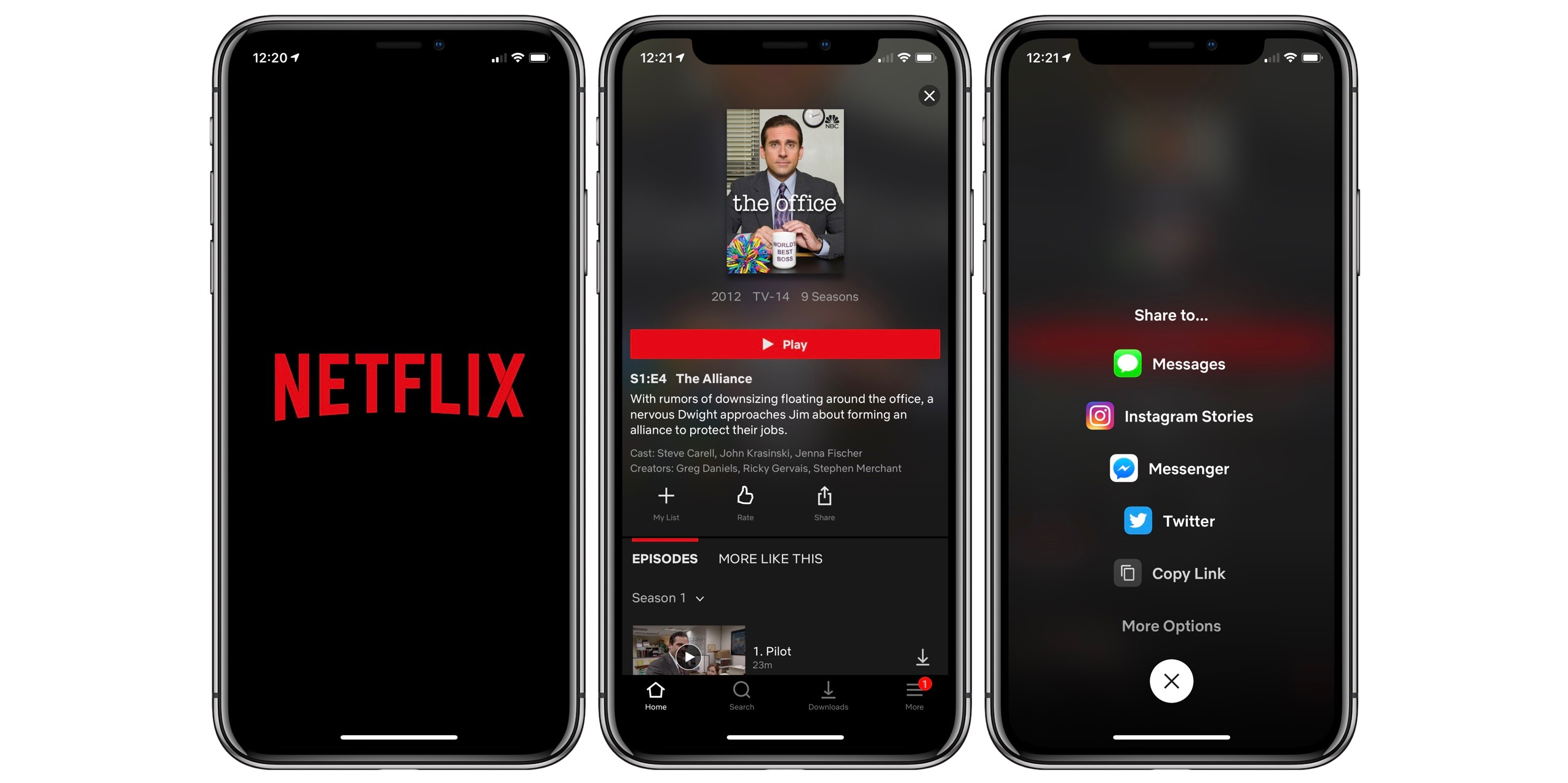 Netflix for iOS launches Instagram integration to let users share movies and TV shows in their Stories