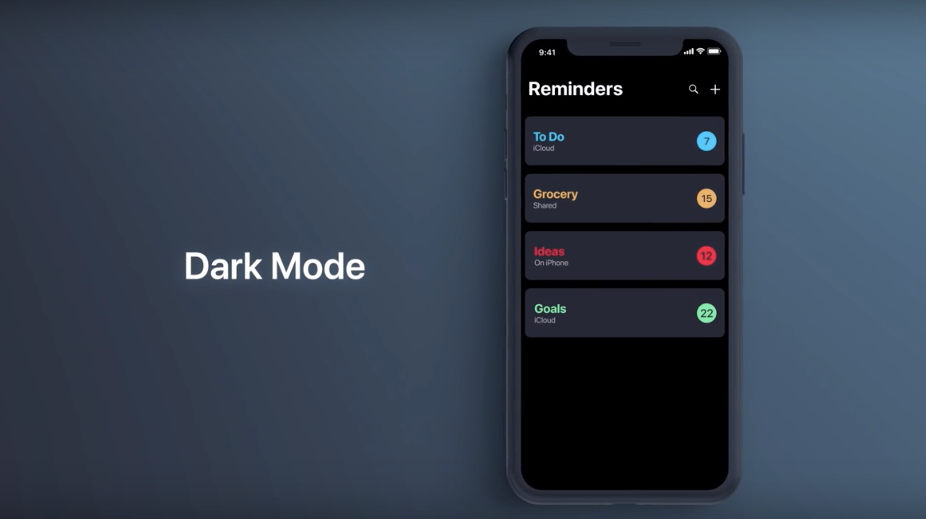 iPhone 11 iOS Dark Mode