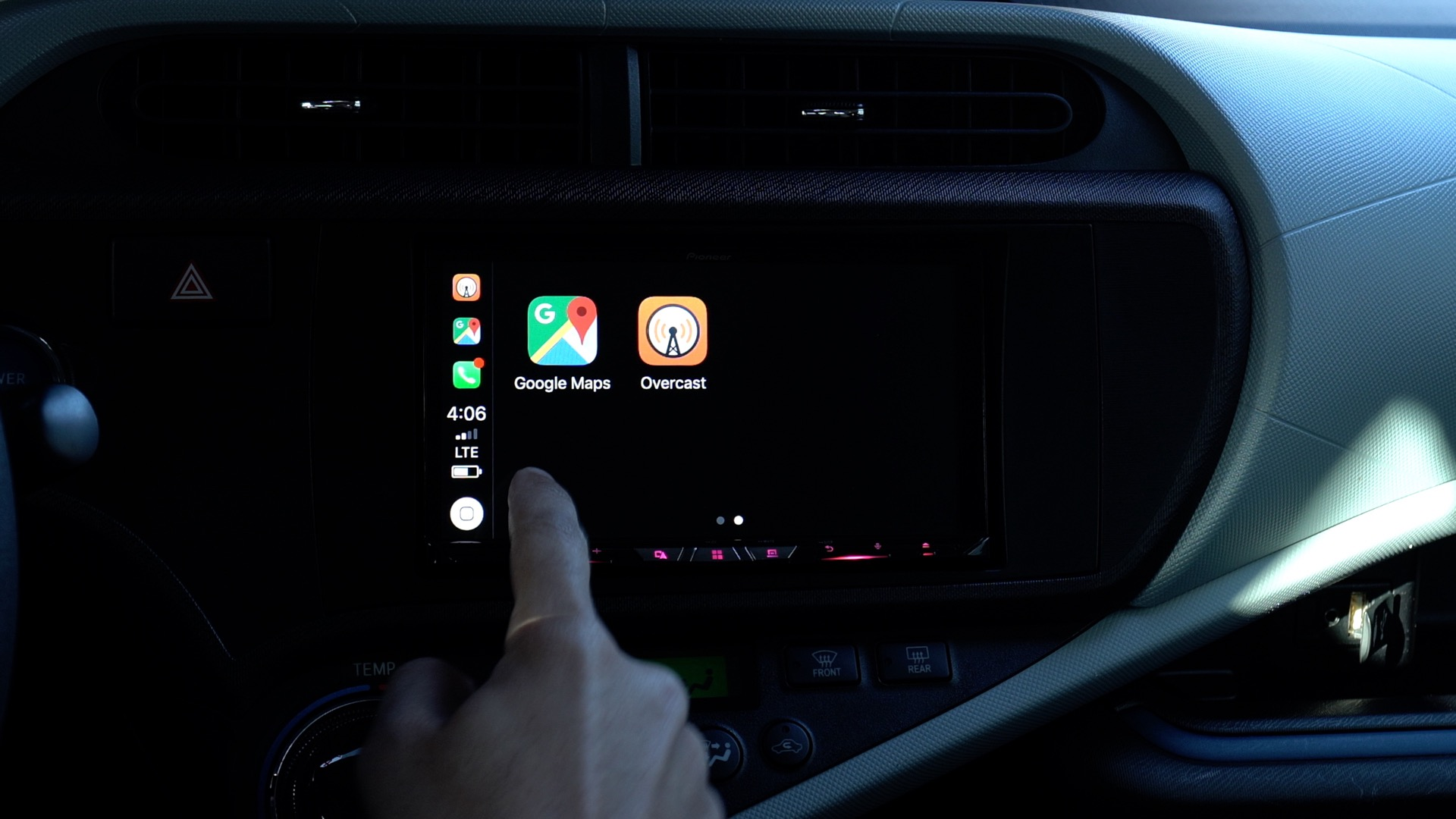Hands On Pioneer S W8400nex Wireless Carplay Head Unit Is Fast And