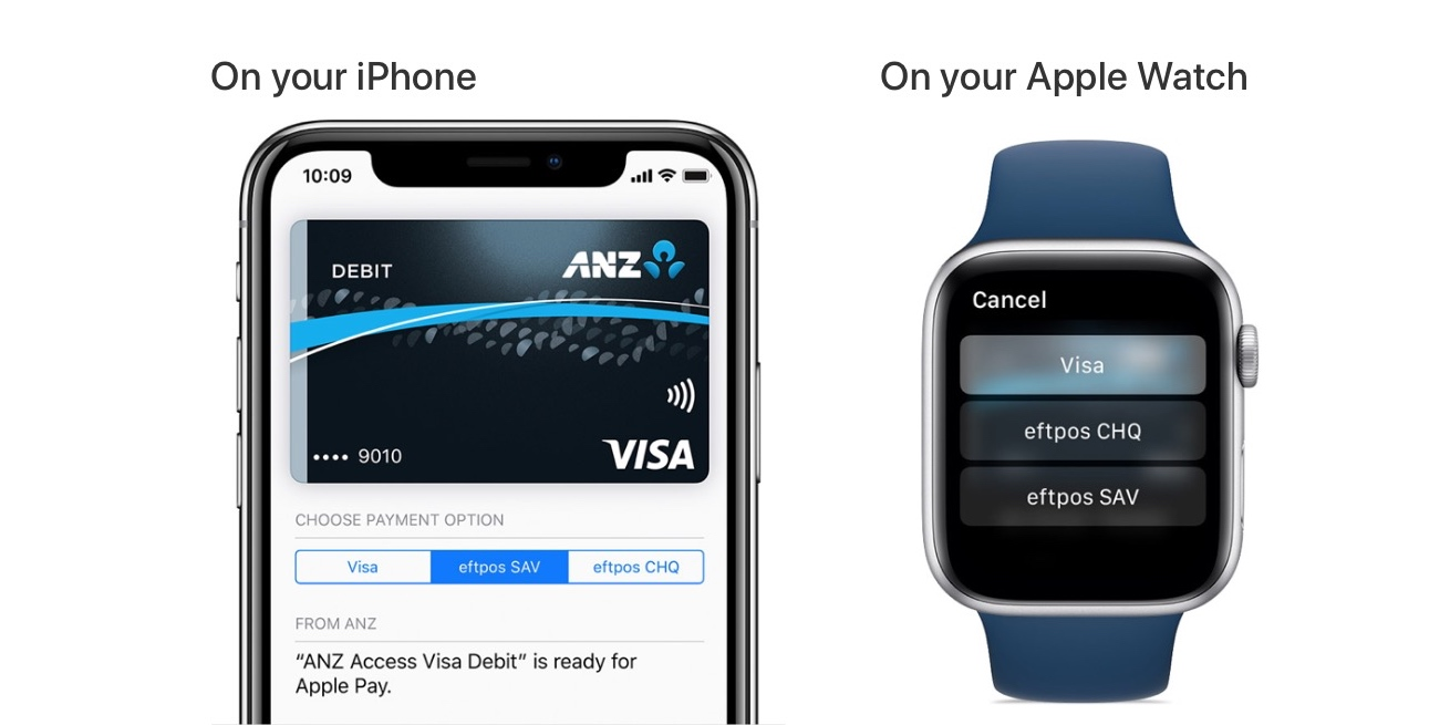 QnA VBage Apple Pay in Australia now lets users switch between Visa and eftpos on compatible debit cards, and avoid credit card fees