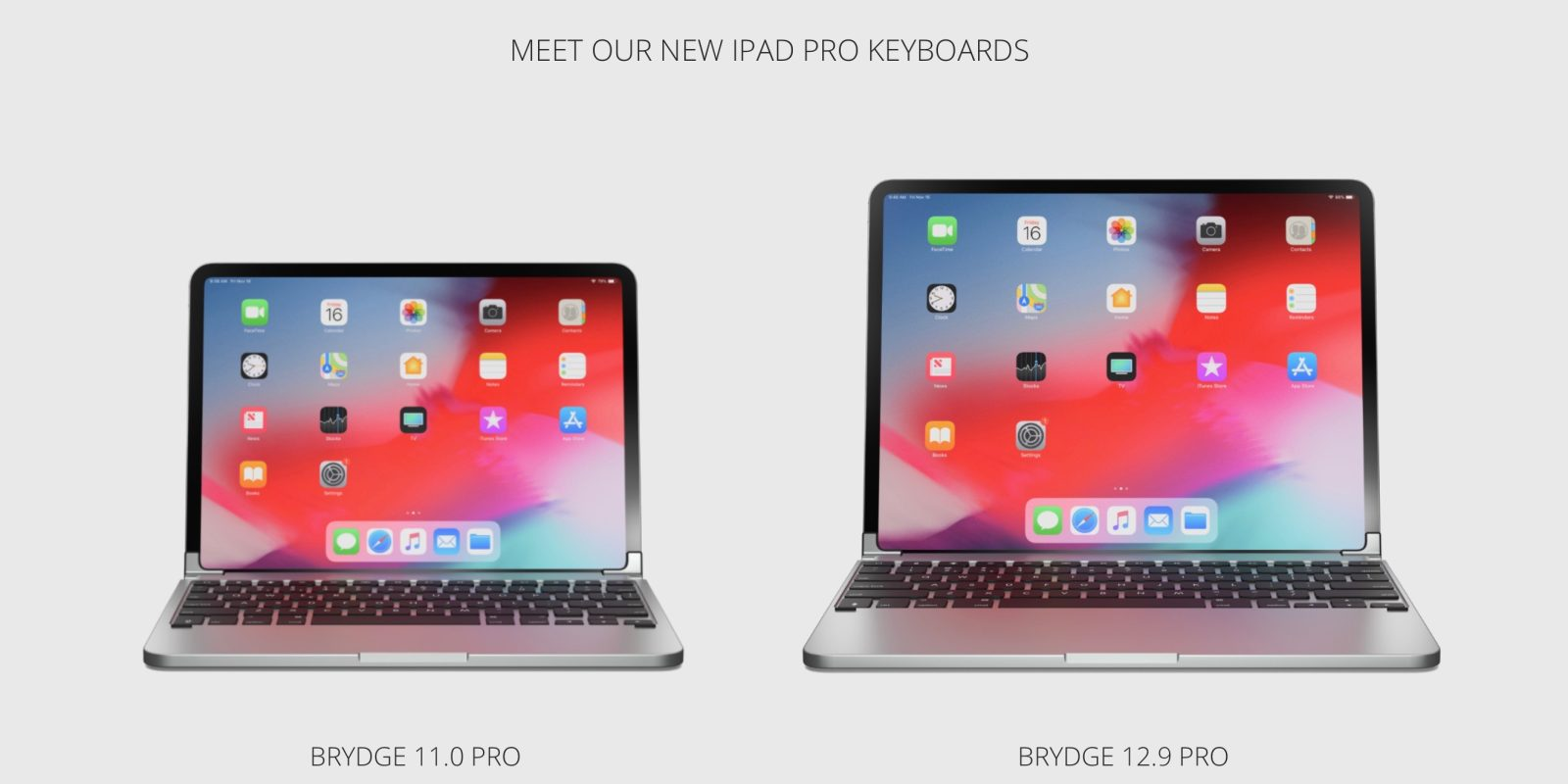 Brydge's new MacBook-style iPad Pro keyboards now available