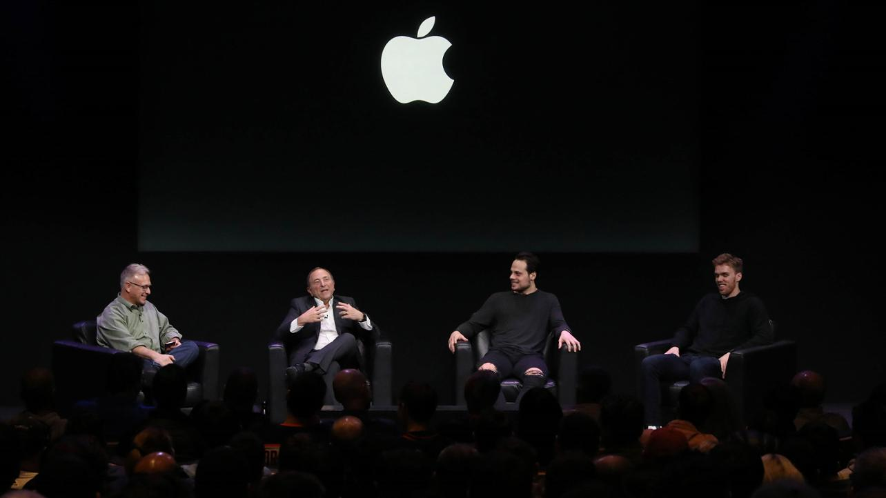 Apple invites NHL players & commissioner to Infinite Loop campus for event w/ Phil Schiller