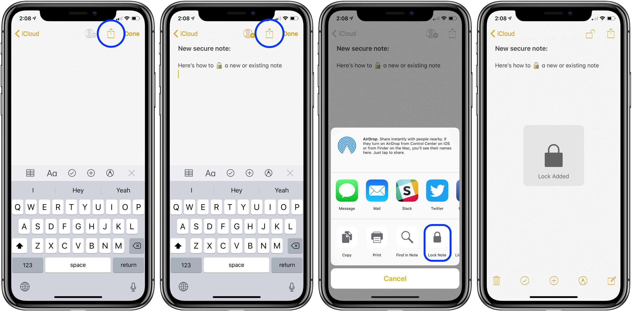 How to lock notes on iPhone and iPad - 9to5Mac