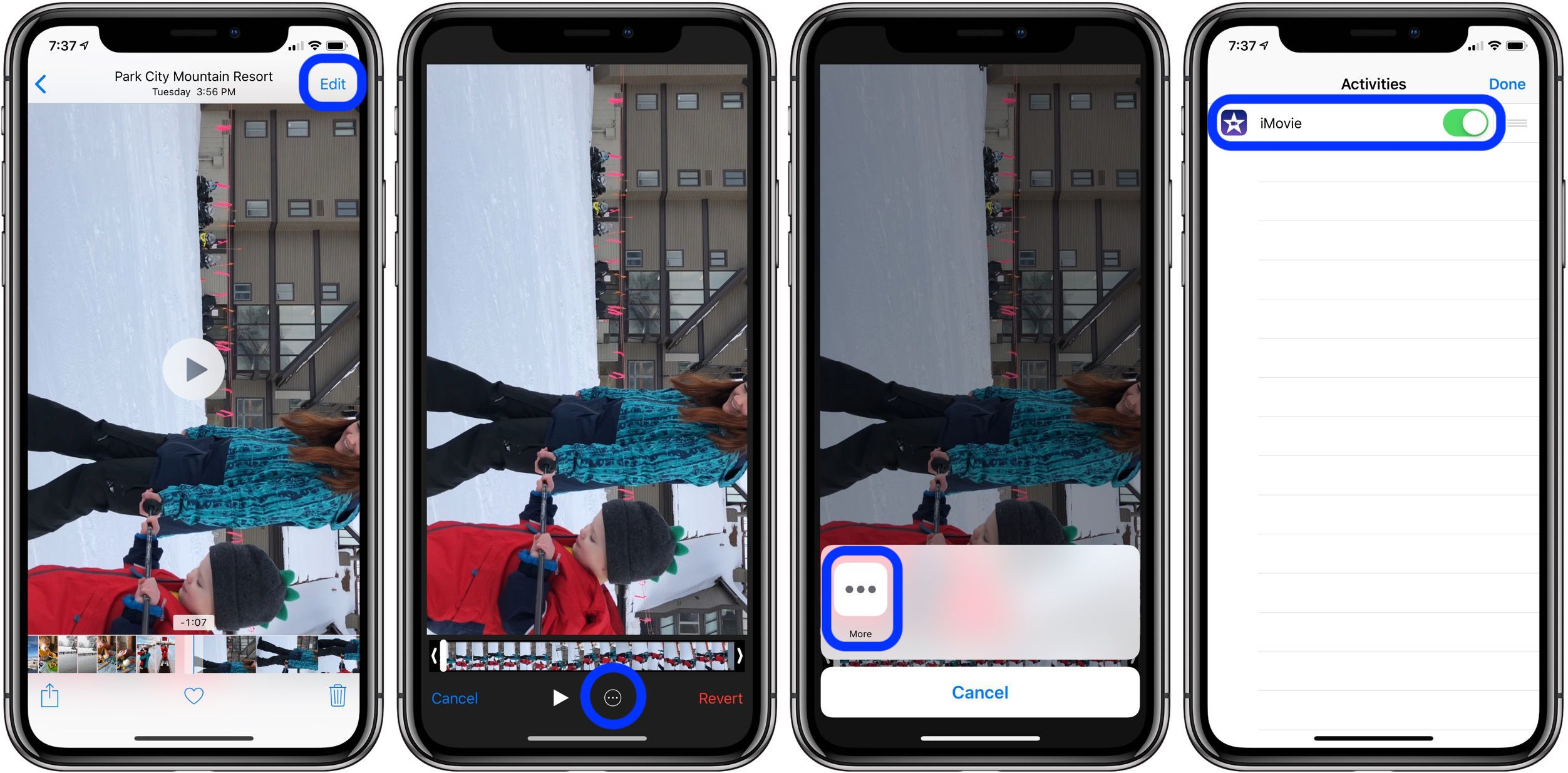 How to rotate iPhone and iPad videos taken in the wrong orientation