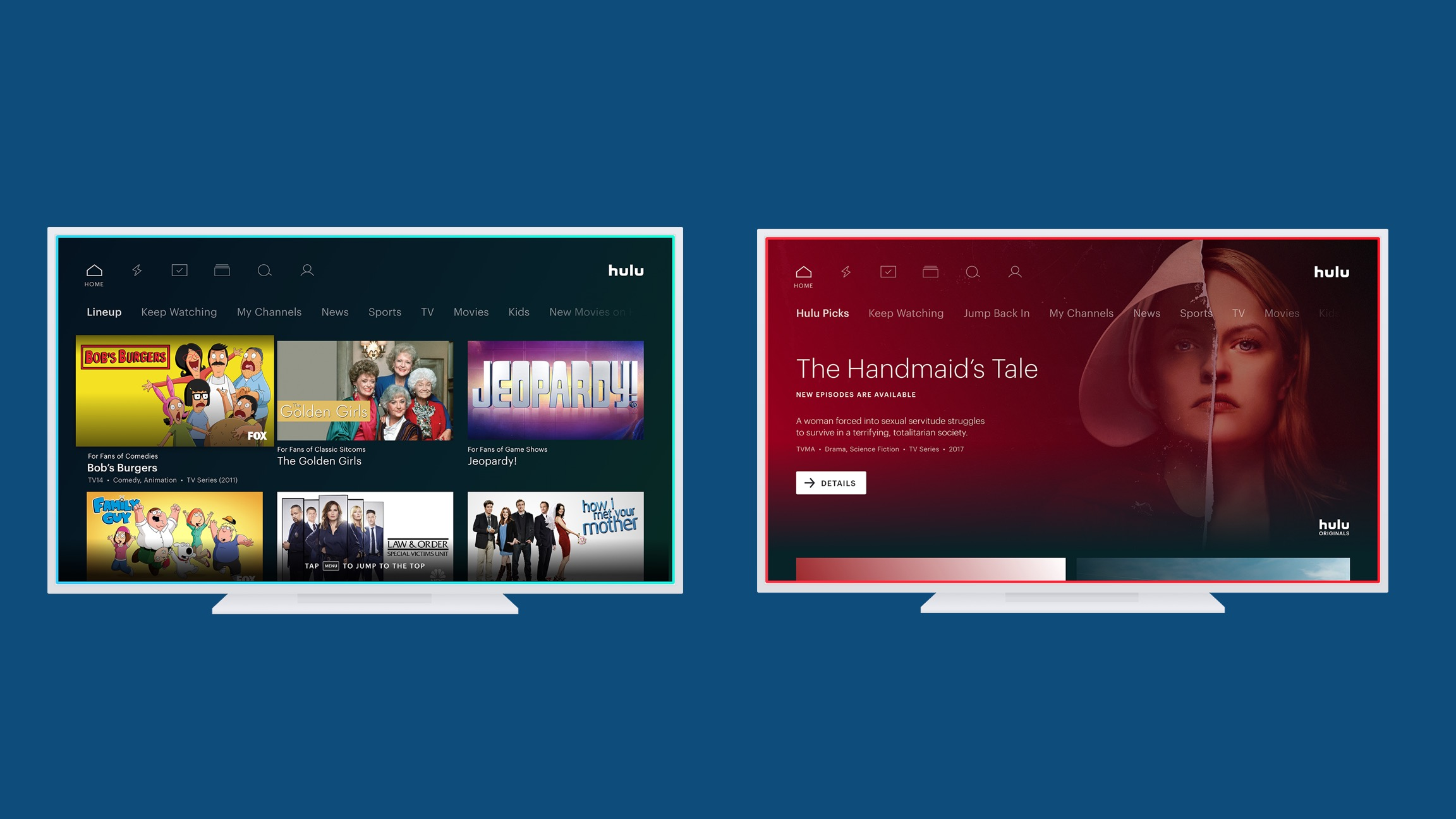Hulu teases redesigned app with simplified navigation, new homepage, more