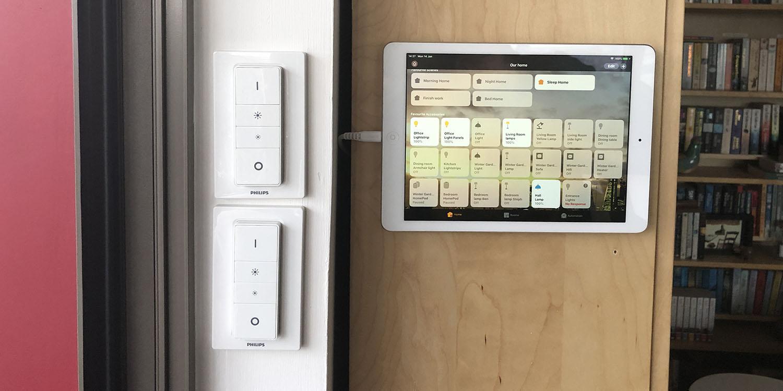 Smart Home Diary: Repurposing an iPad Air as a home control