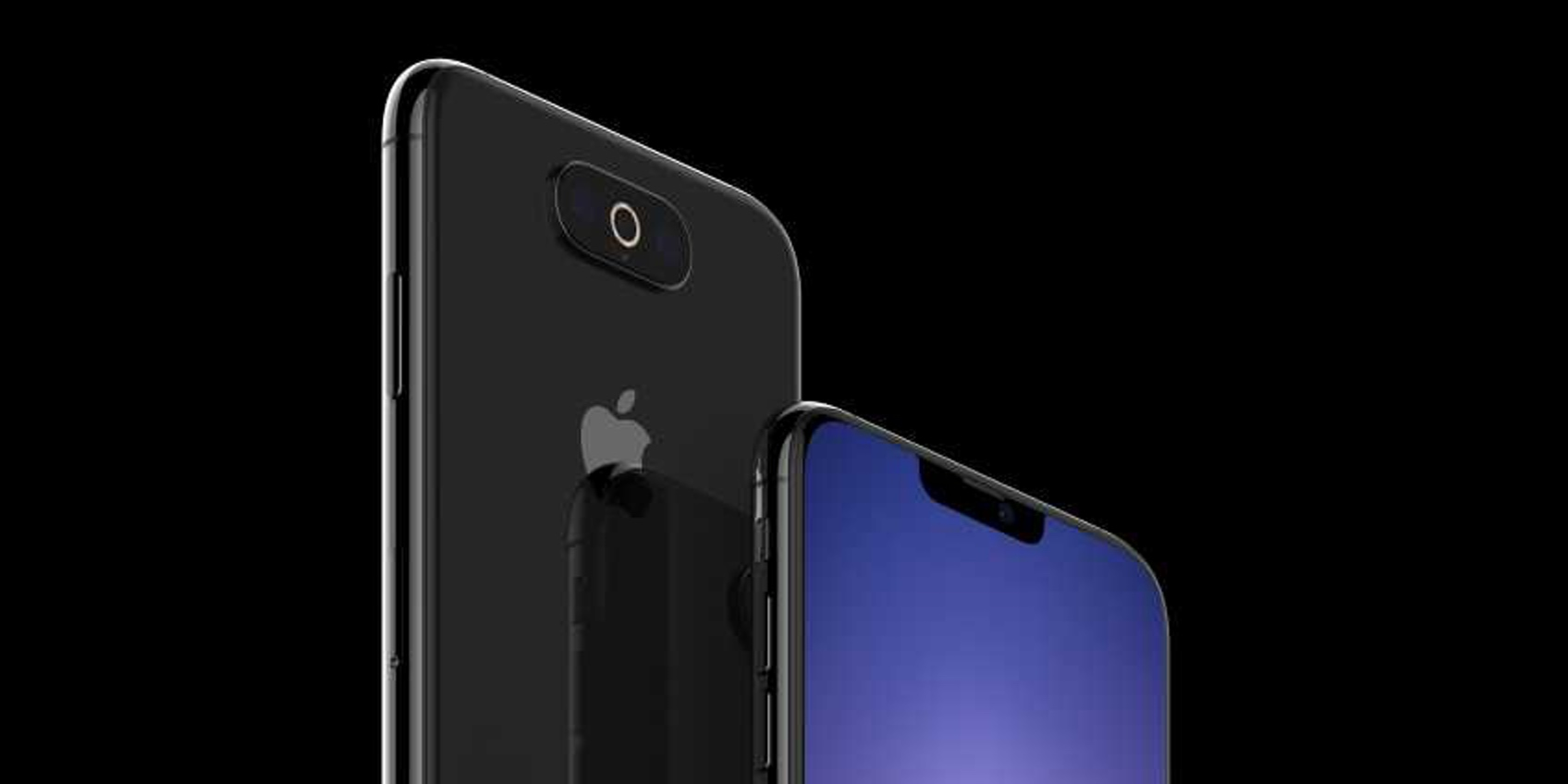 Renders show another supposed iPhone 11 prototype with smaller notch, sleeker camera bump design