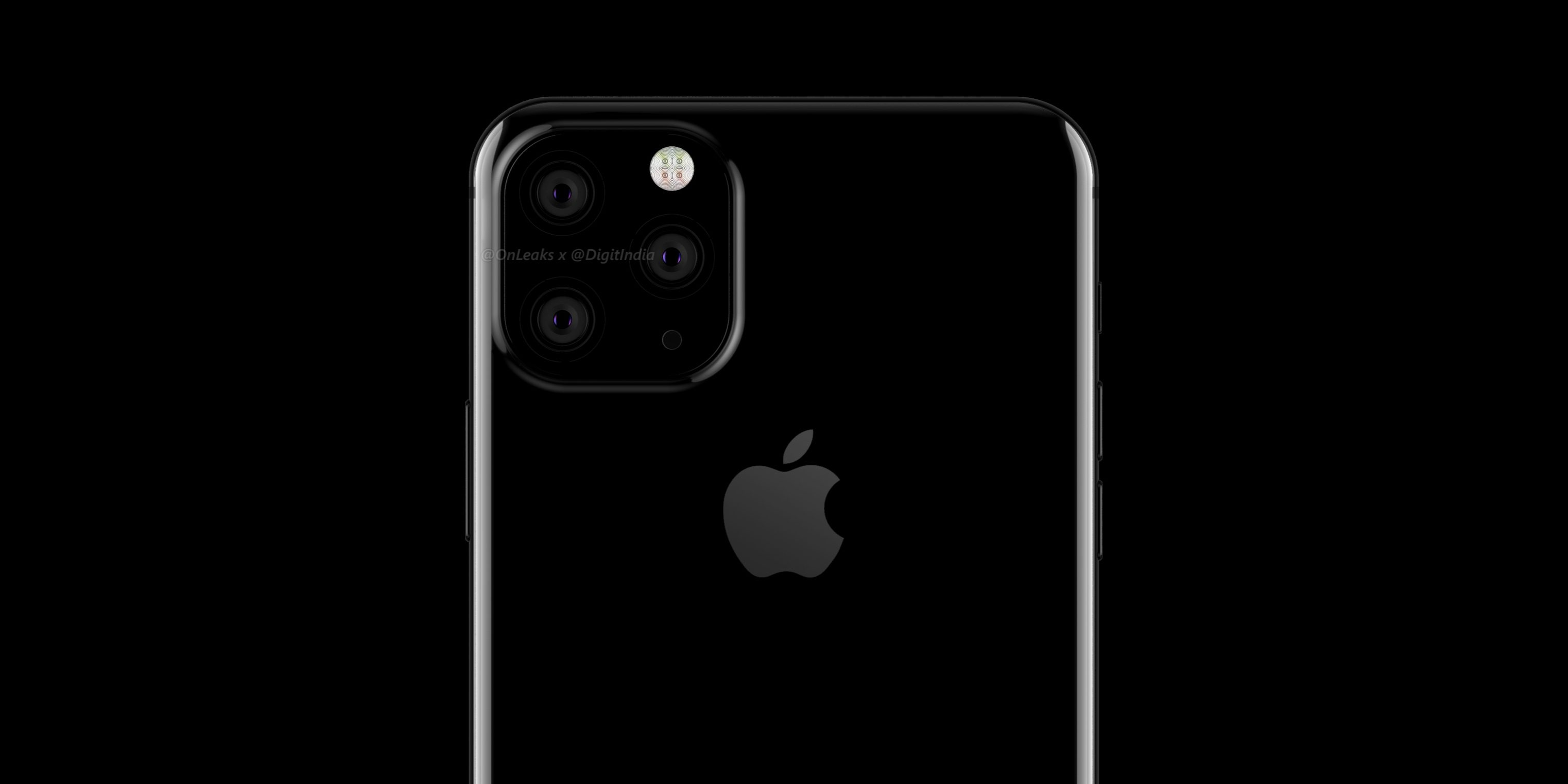 photo image WSJ: Triple rear camera for high-end 'iPhone 11', XR successor gets dual lenses