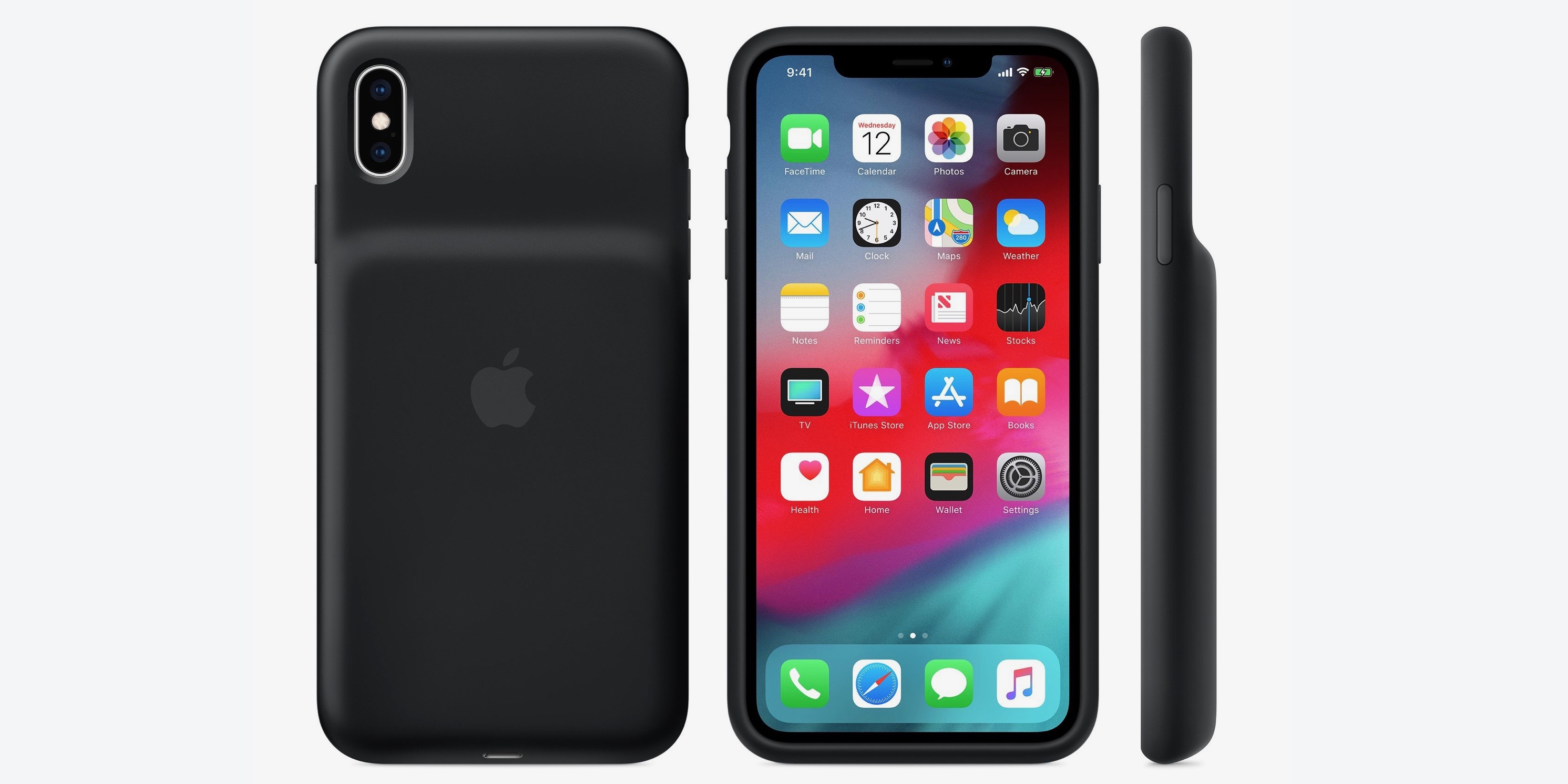 Apple officially releases Smart Battery cases for iPhone XS/Max/XR with Qi charging support