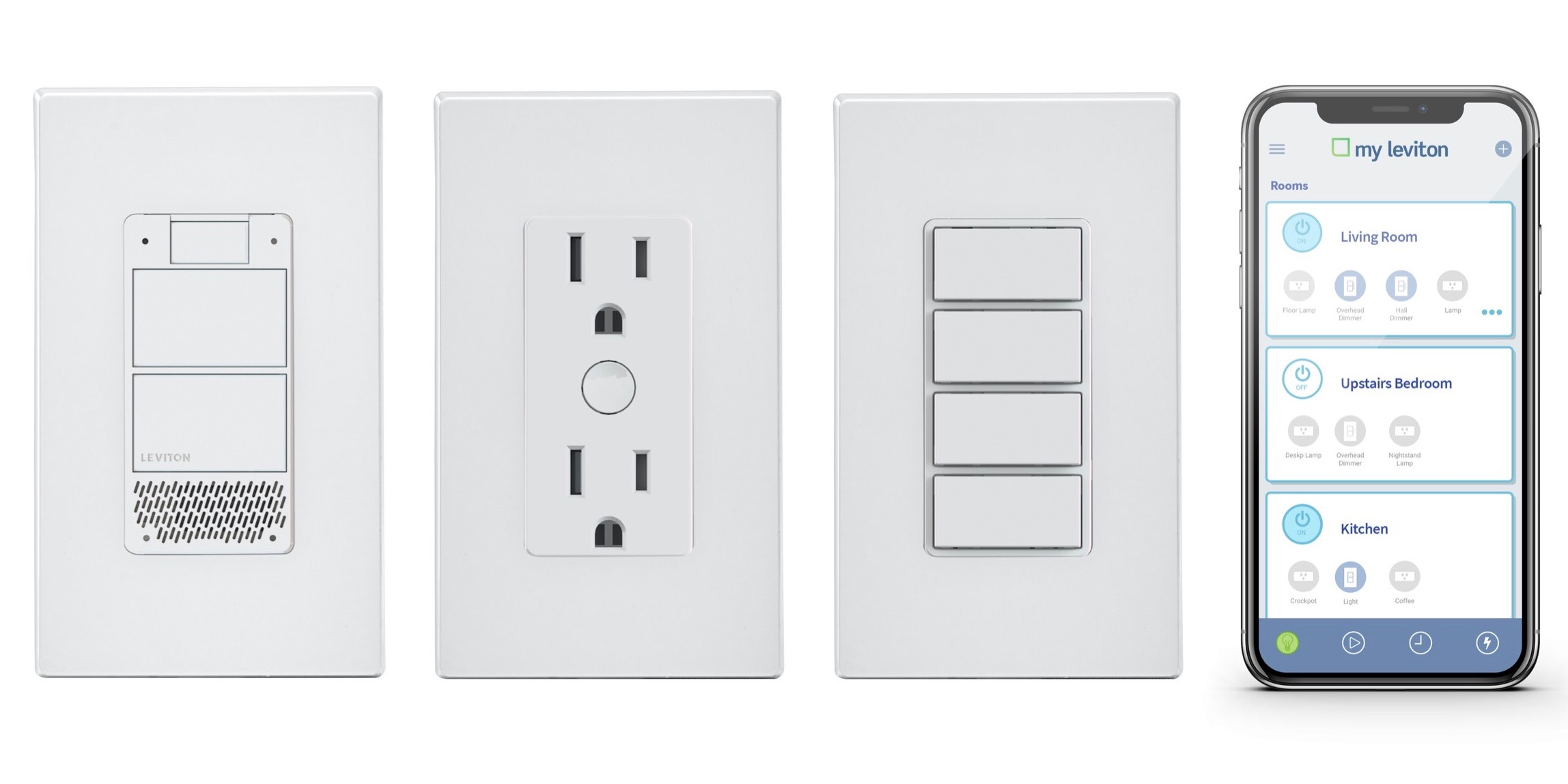 Leviton Wi-fi Switches - Binding Required