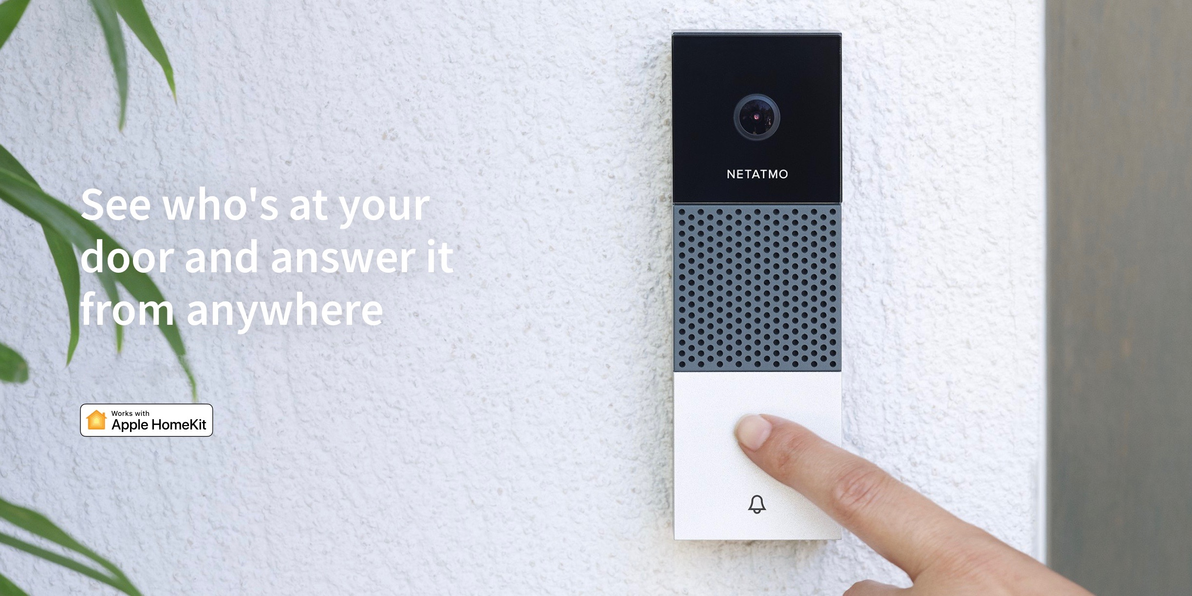 Netatmo HomeKit video doorbell