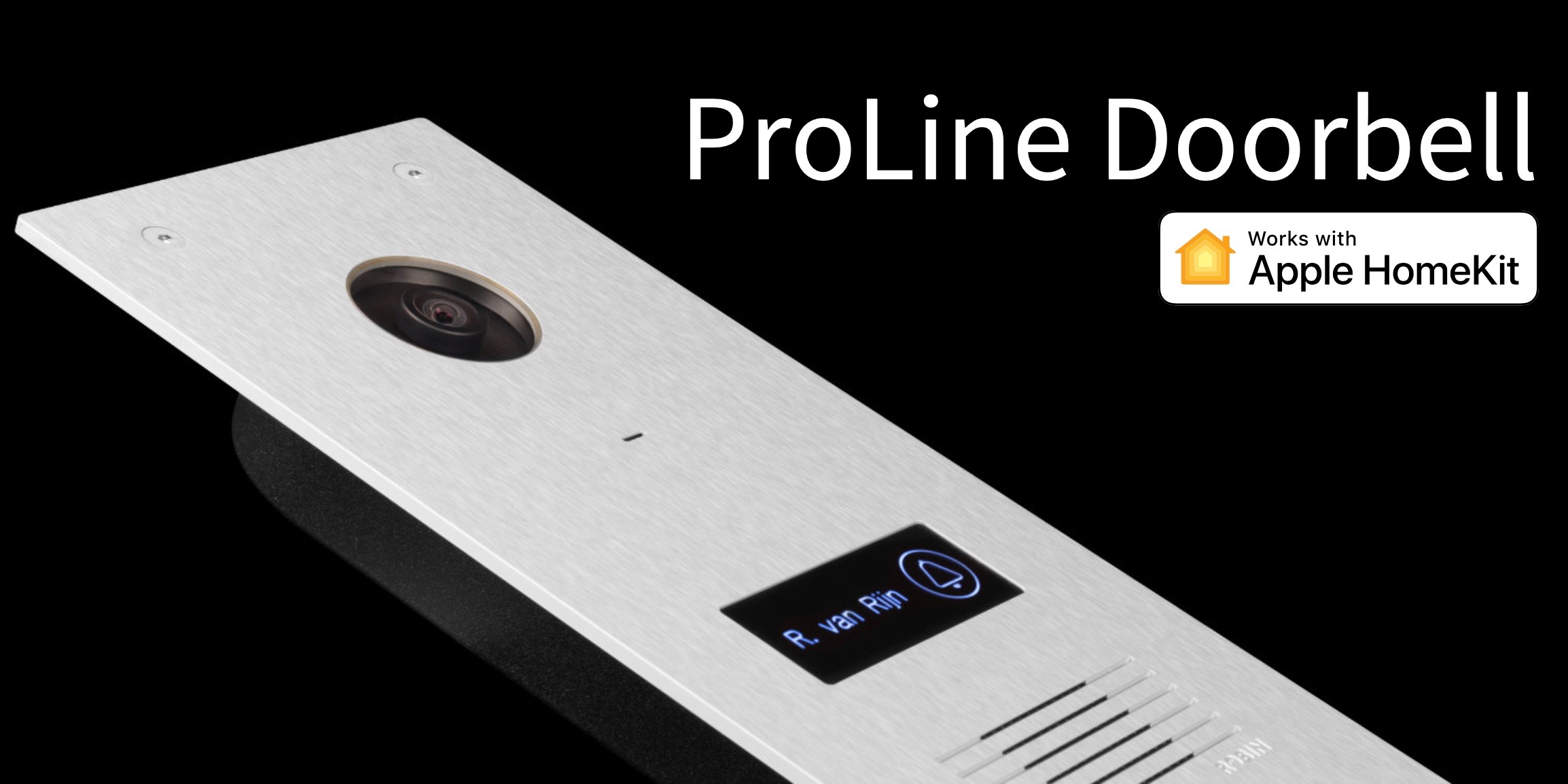 [Update: Shipping next month for $660] Robin Telecom claims to offer the first HomeKit enabled doorbell with its ProLine Doorbell