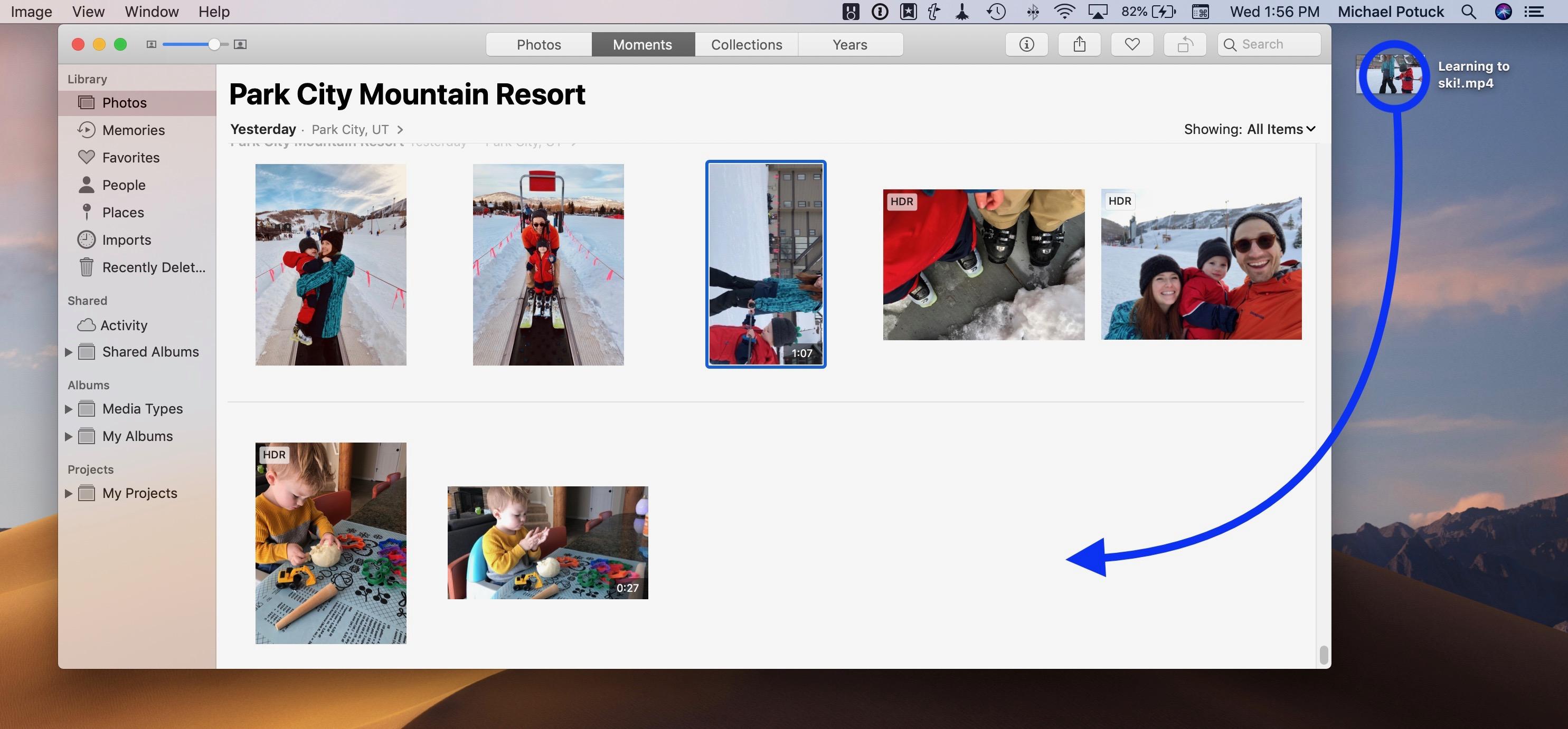rotate iPhone iPad videos
