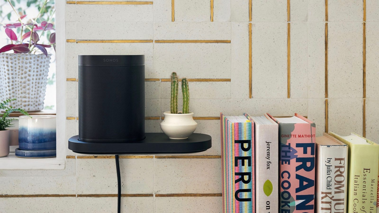 photo of Sonos now selling Play:1 and One stands and shelves, new cables in 3 lengths image