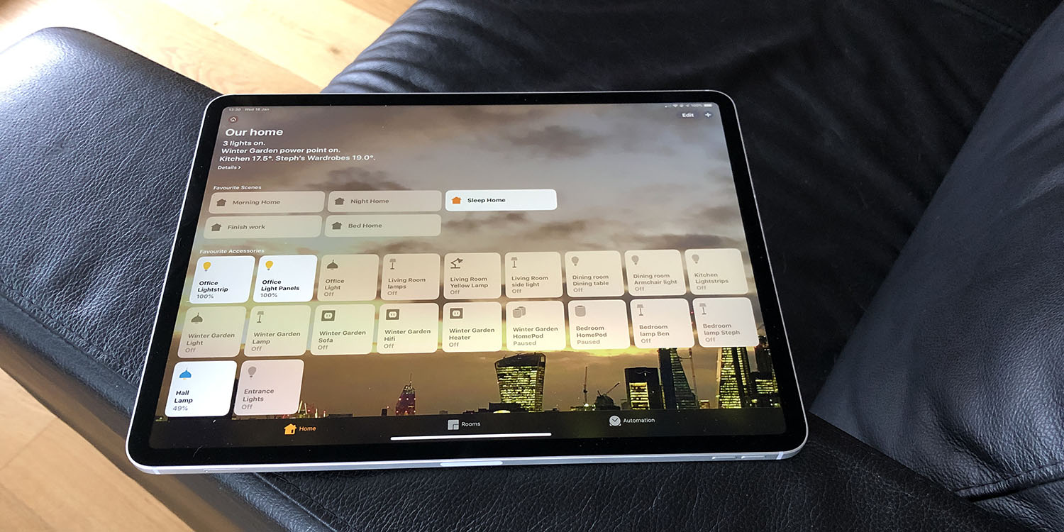 Smart Home Diary: Let's talk automation and scenes …