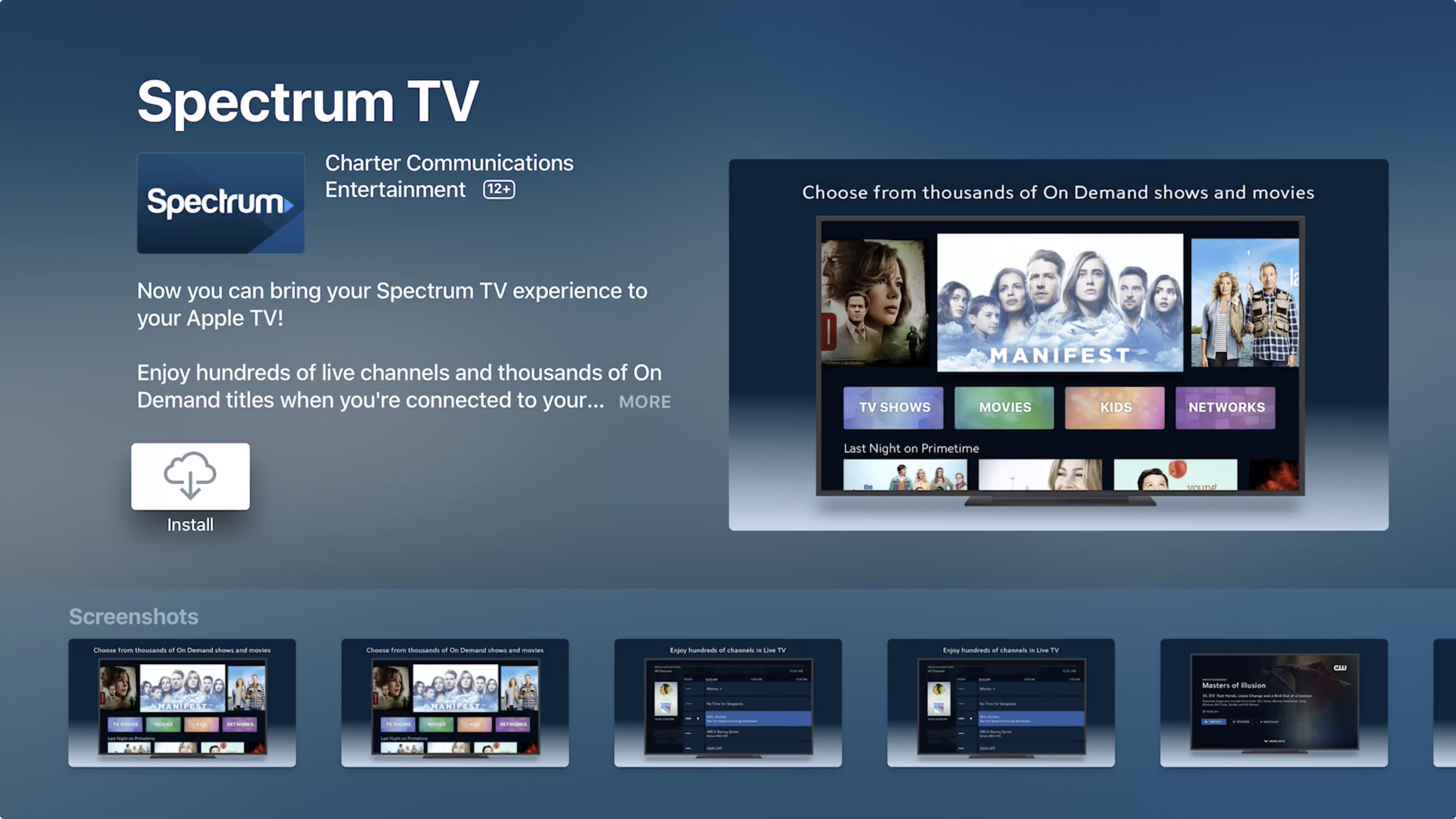 Spectrum TV app for Apple TV released, here\u0027s how to use it - 9to5Mac