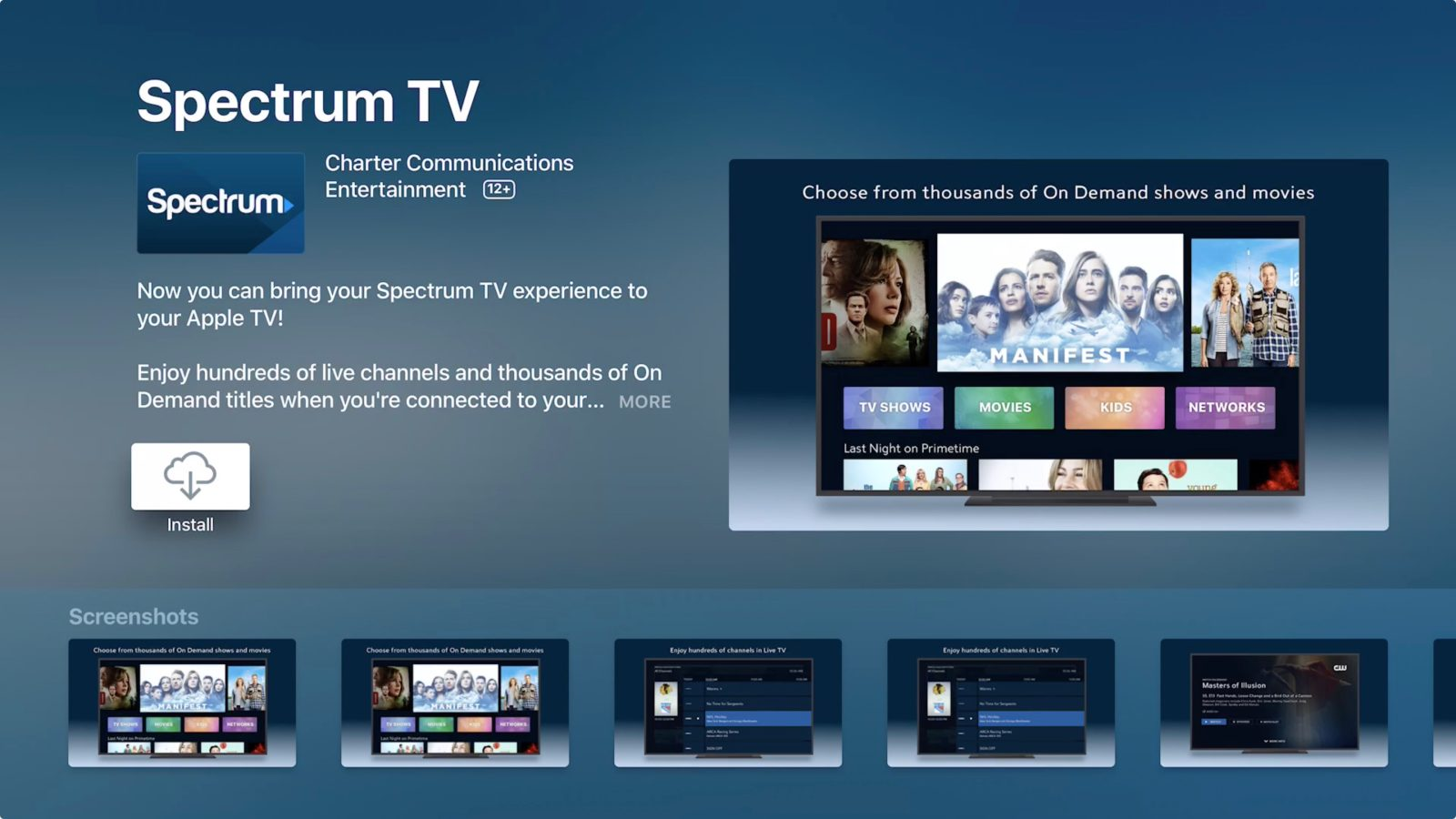 Spectrum TV app for Apple TV released, here's how to use it - 9to5Mac