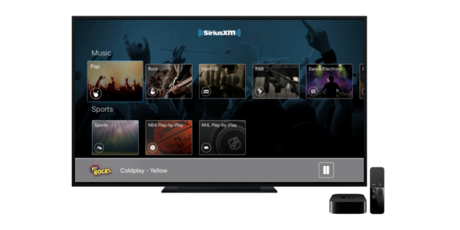 Apple TV picks up Howard Stern show with updated SiriusXM app, no AirPlay required