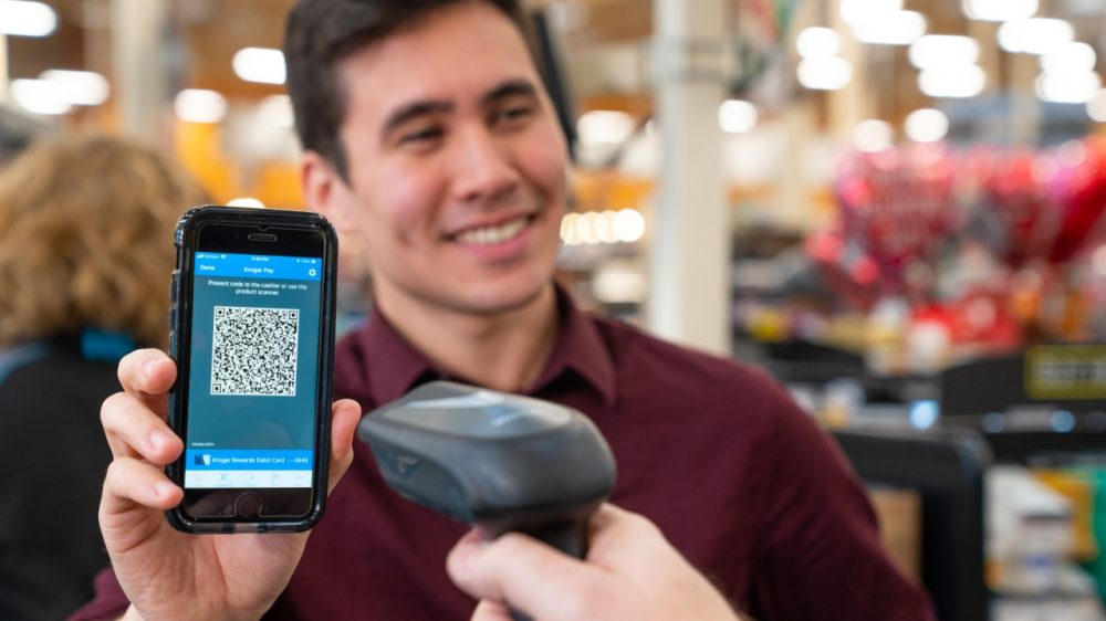 Kroger Pay QR based payment solution