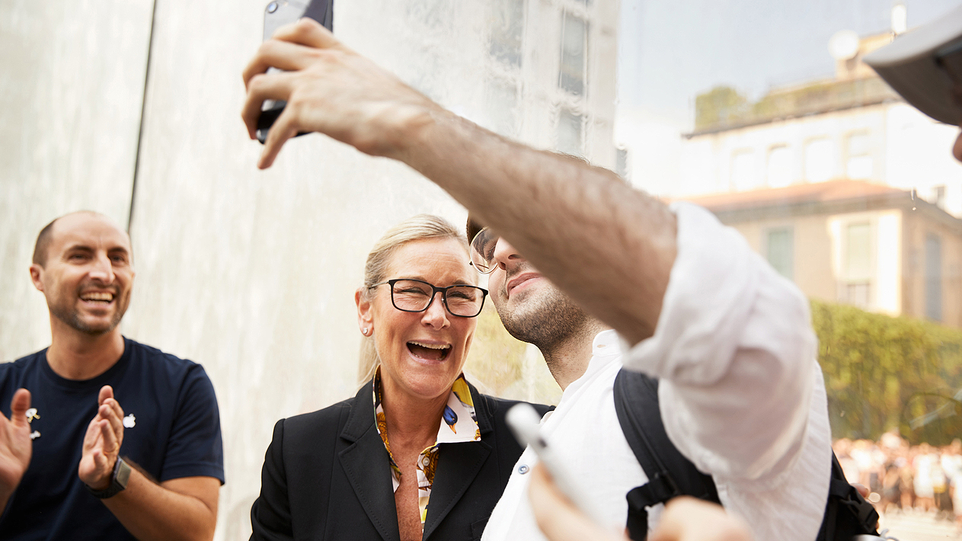 Angela Ahrendts details plans for life after Apple at Ralph Lauren fashion show appearance