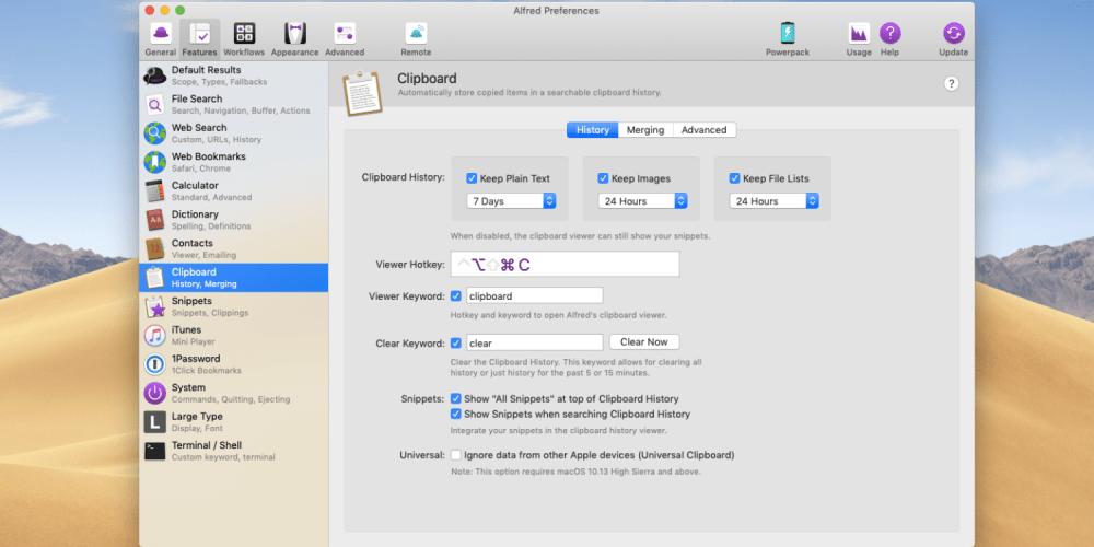 Alfred 3 essential mac apps
