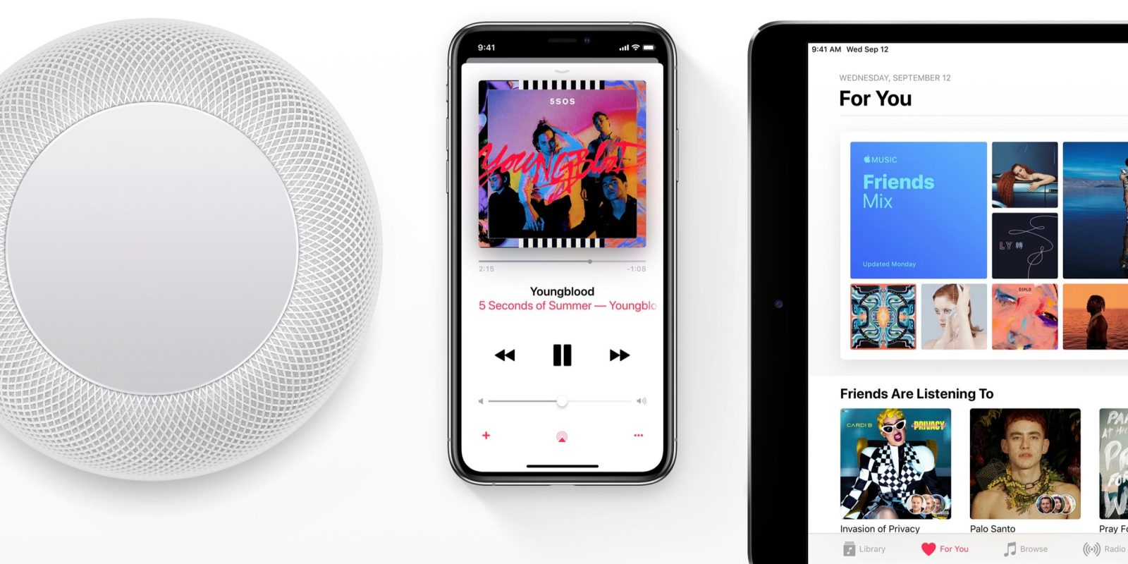 Apple Music the only major streaming service not appealing
