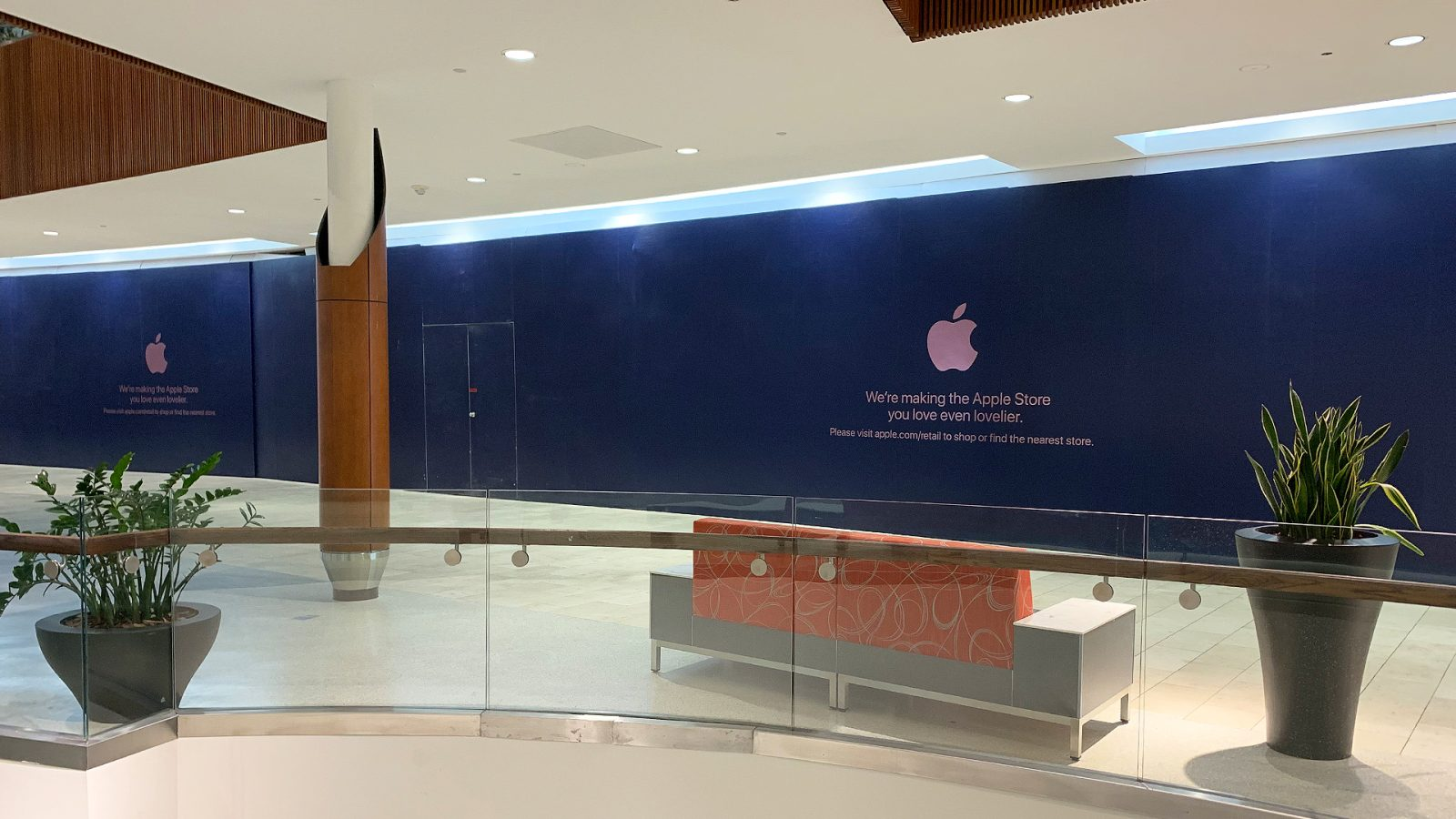 Expanded Natick Mall Apple Store