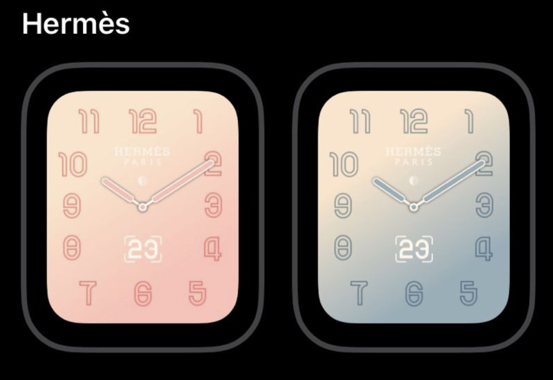 New exclusive Apple Watch Hermès faces coming in watchOS 5 2