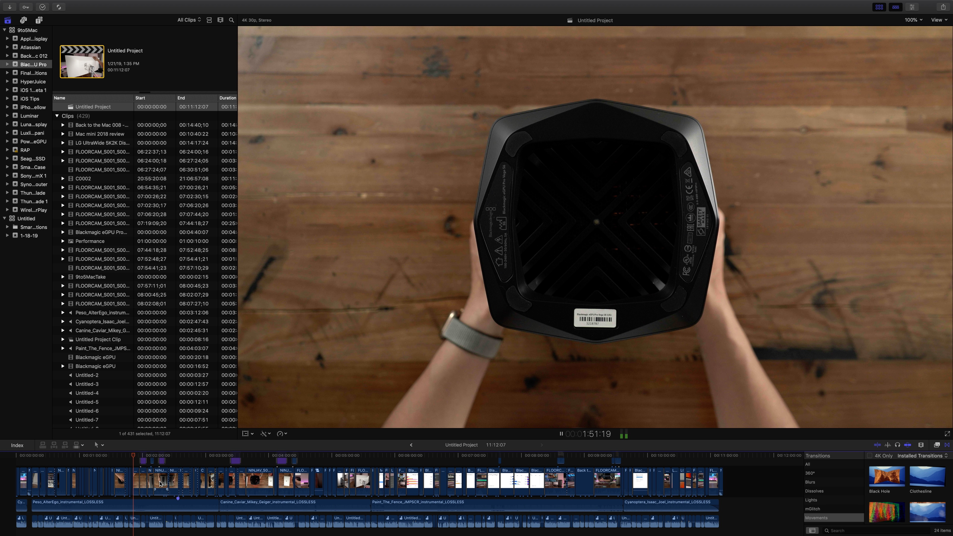 Apple releases Final Cut Pro 10.4.6 with stability and bug fixes