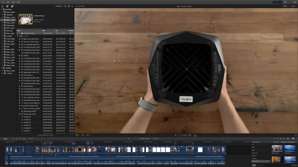 Apple releases Final Cut Pro 10 4 6 with stability and bug