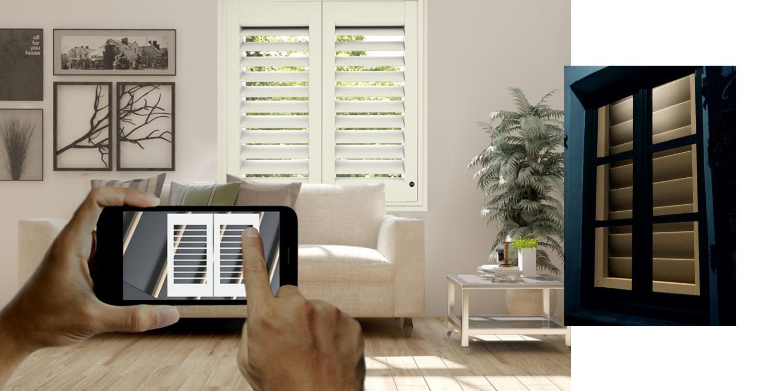 Homekit Compatible Smart Shutters Come