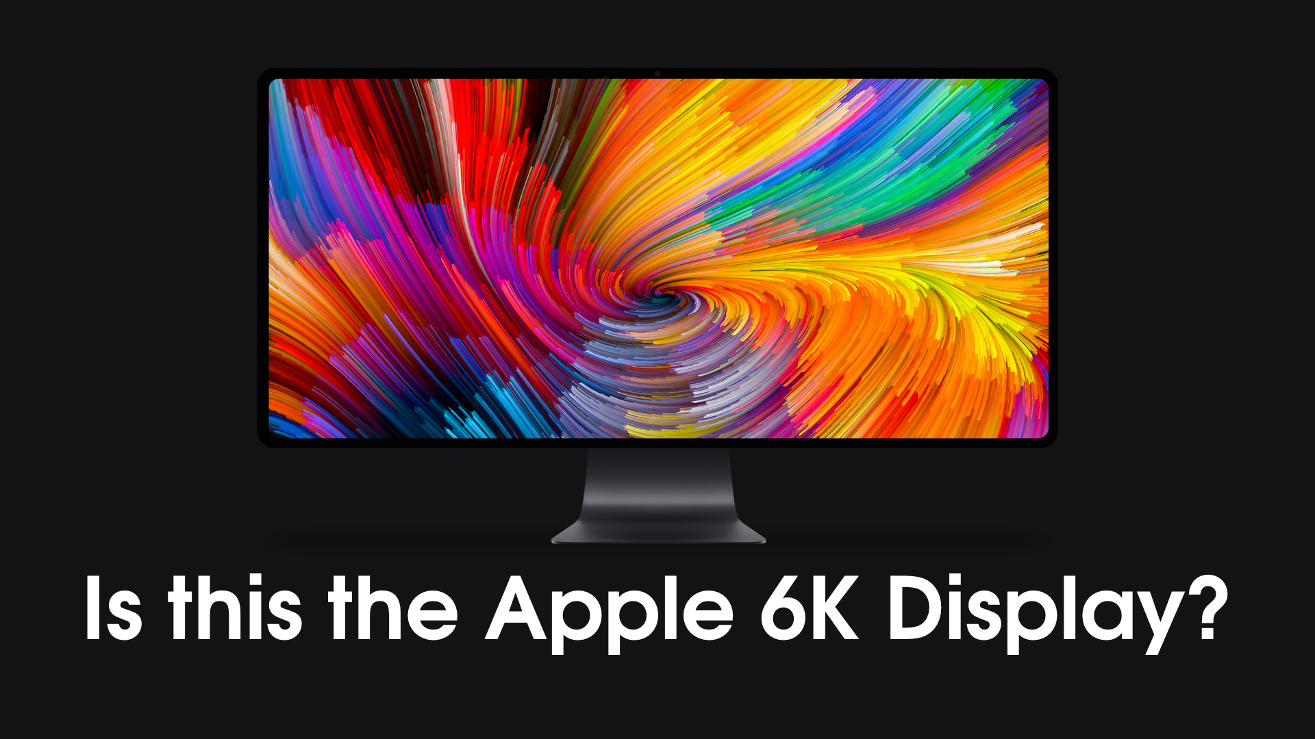 The Apple 6K display could be a true 5K ultra-wide [Video]