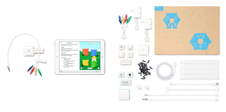 Le kit Makeblock Neuron Explorer comprend des pièces
