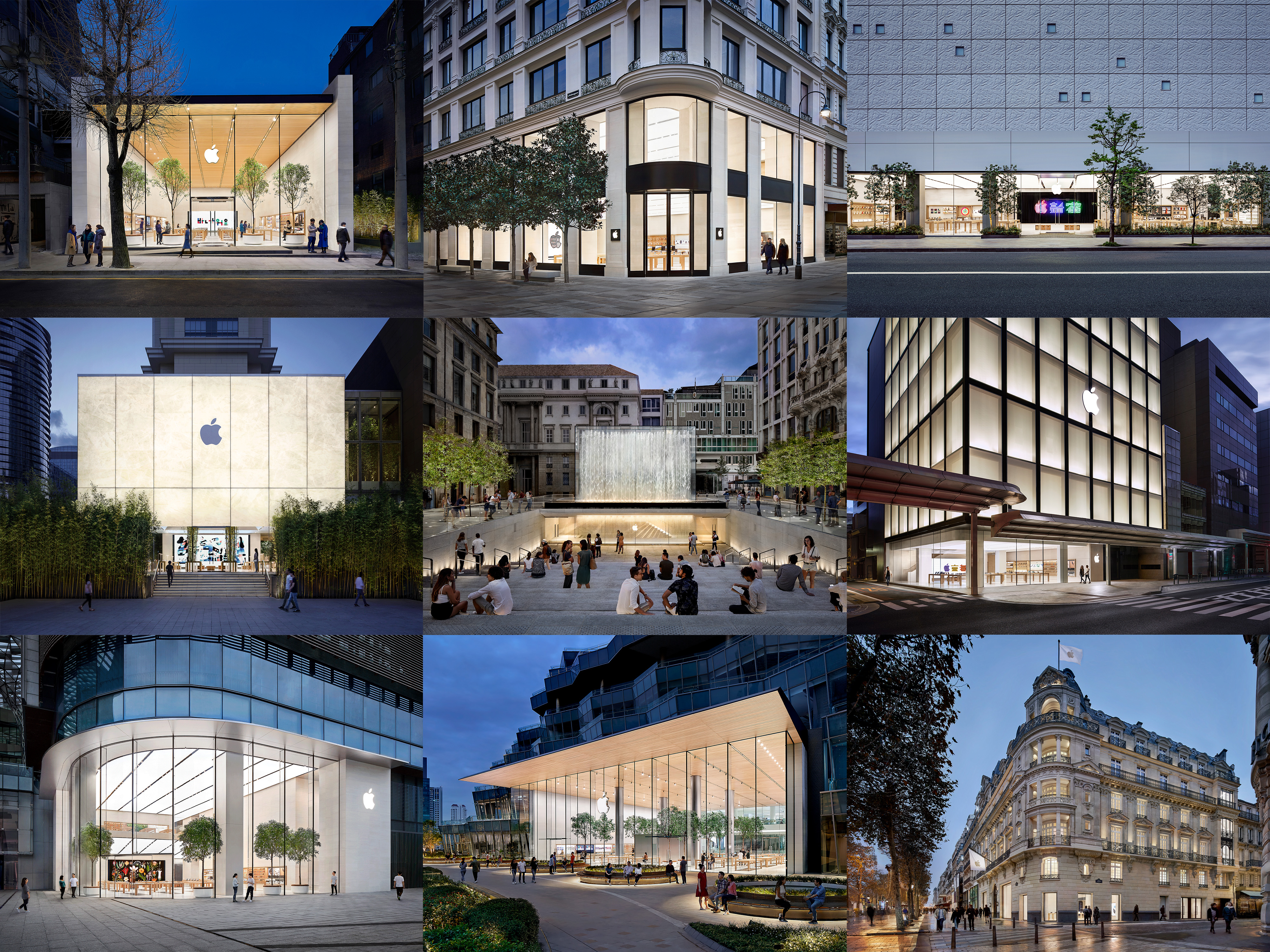 flagship Apple stores
