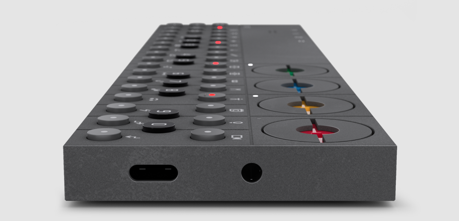 The OP-Z music sequencer