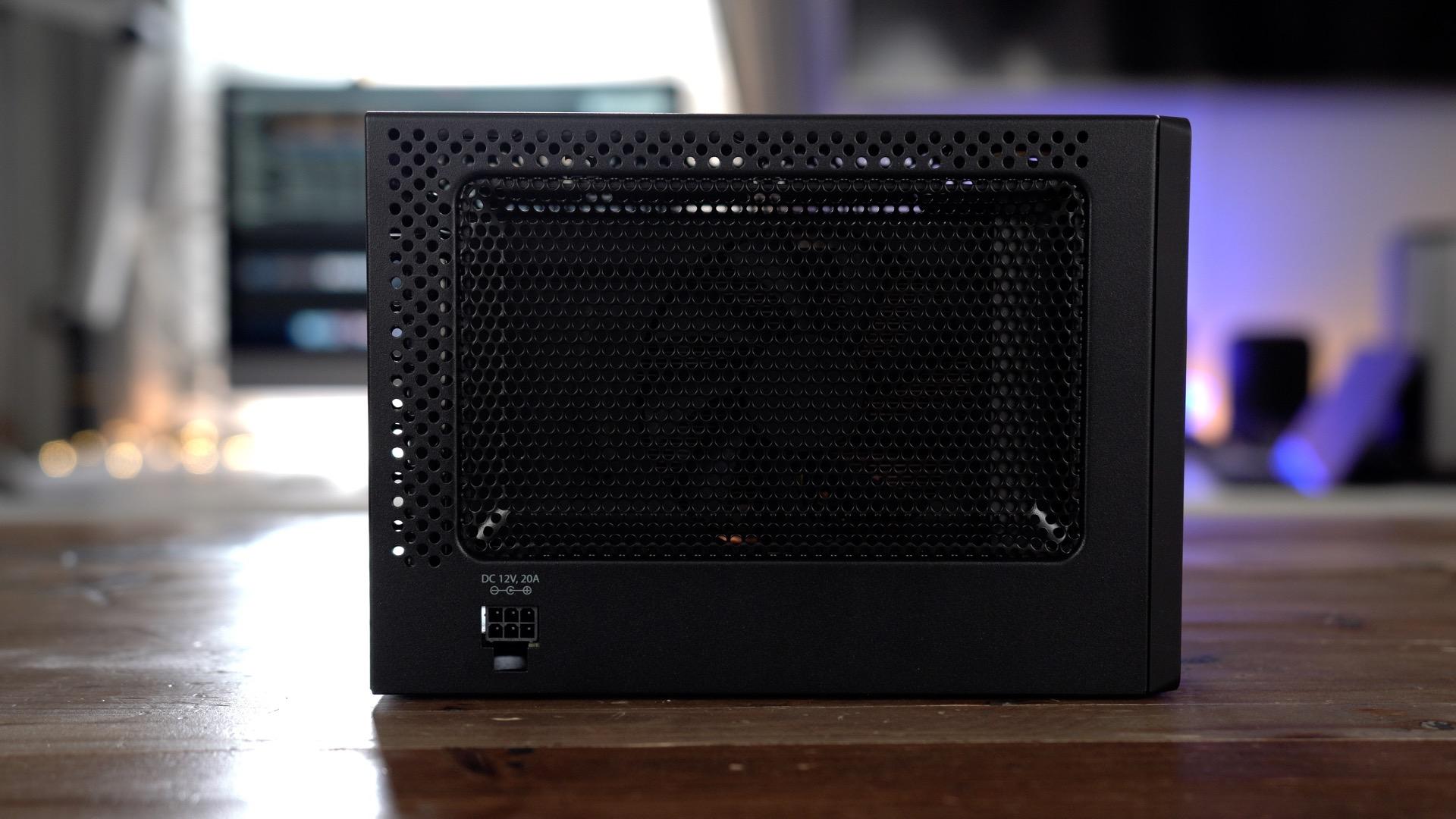 PowerColor Mini Pro eGPU RX 570 Side