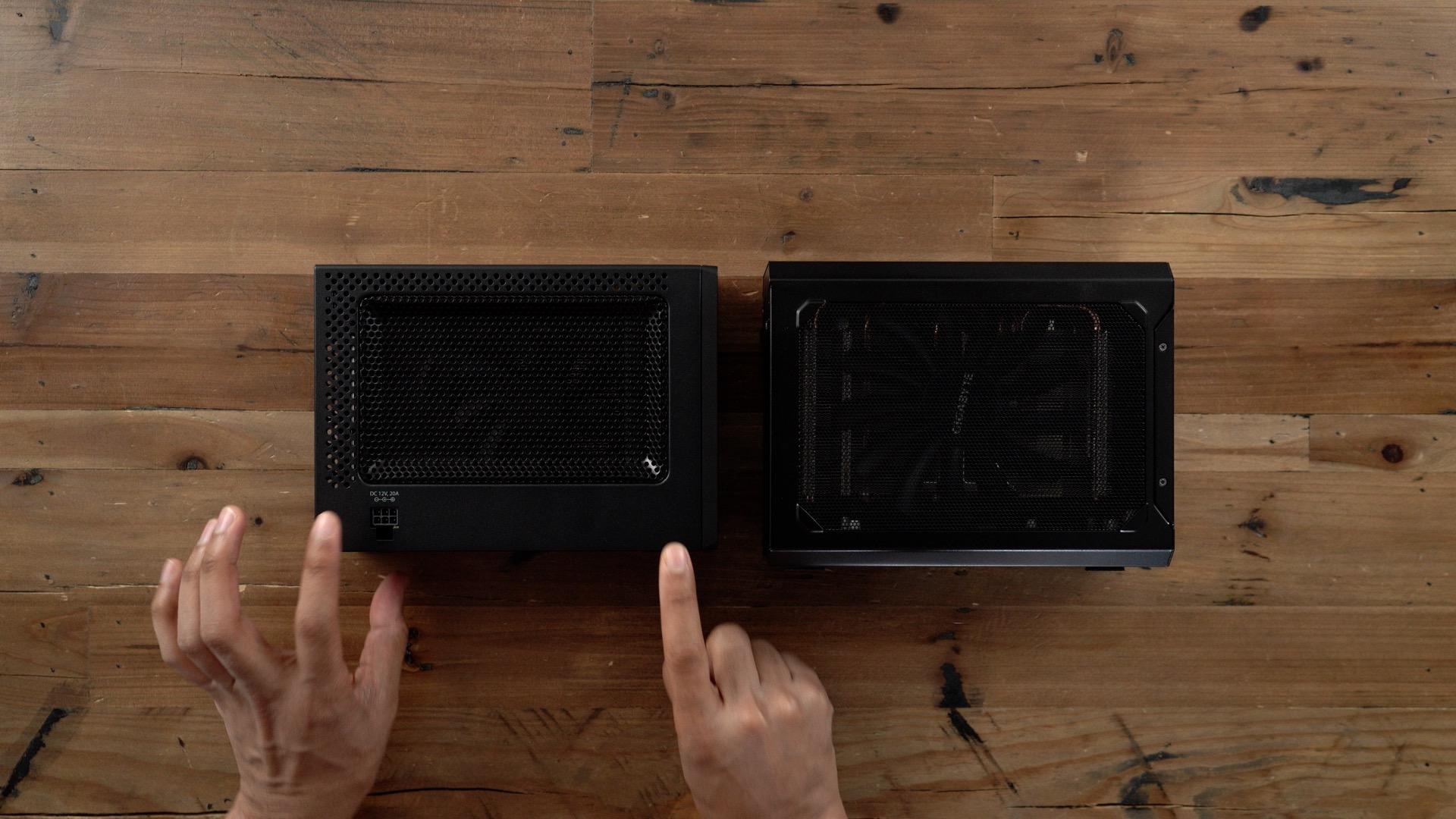 PowerColor Mini Pro eGPU RX 570 vs Gigabyte Gaming Box