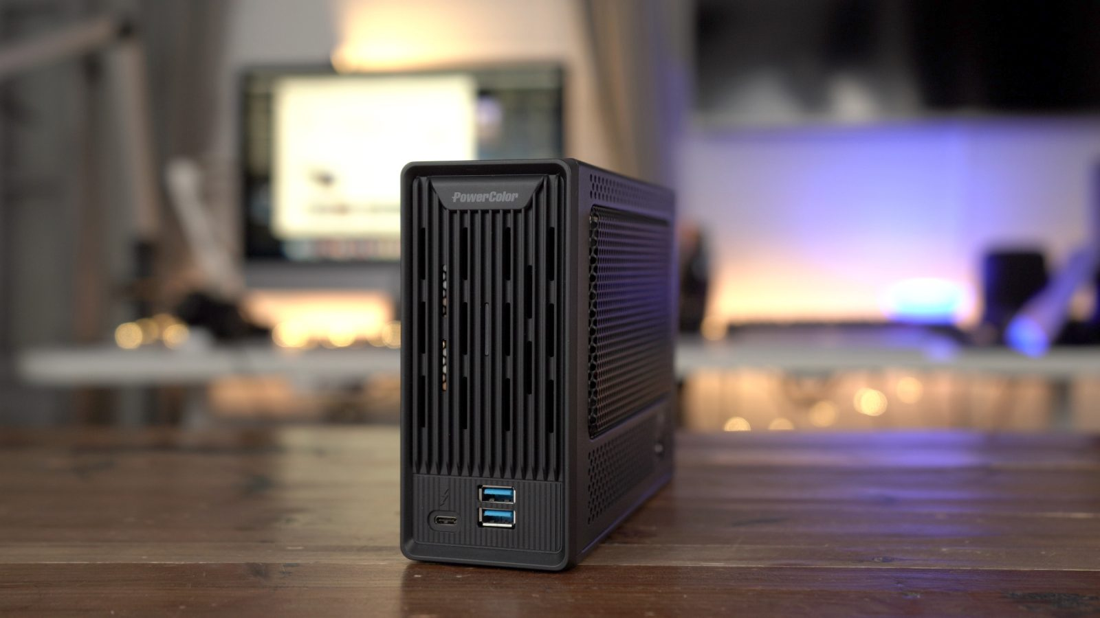 PowerColor Mini Pro review: a pint-sized RX 570 eGPU [Video