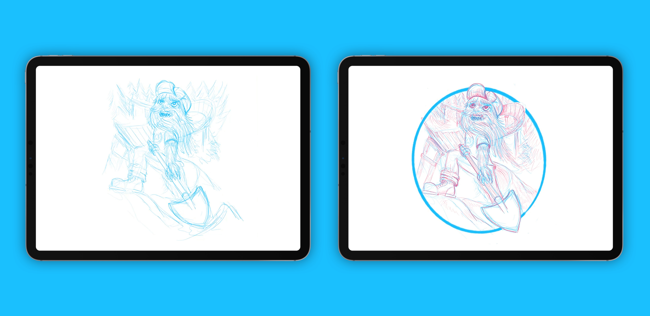 iPad Pro creative workflows Neil Vilppu