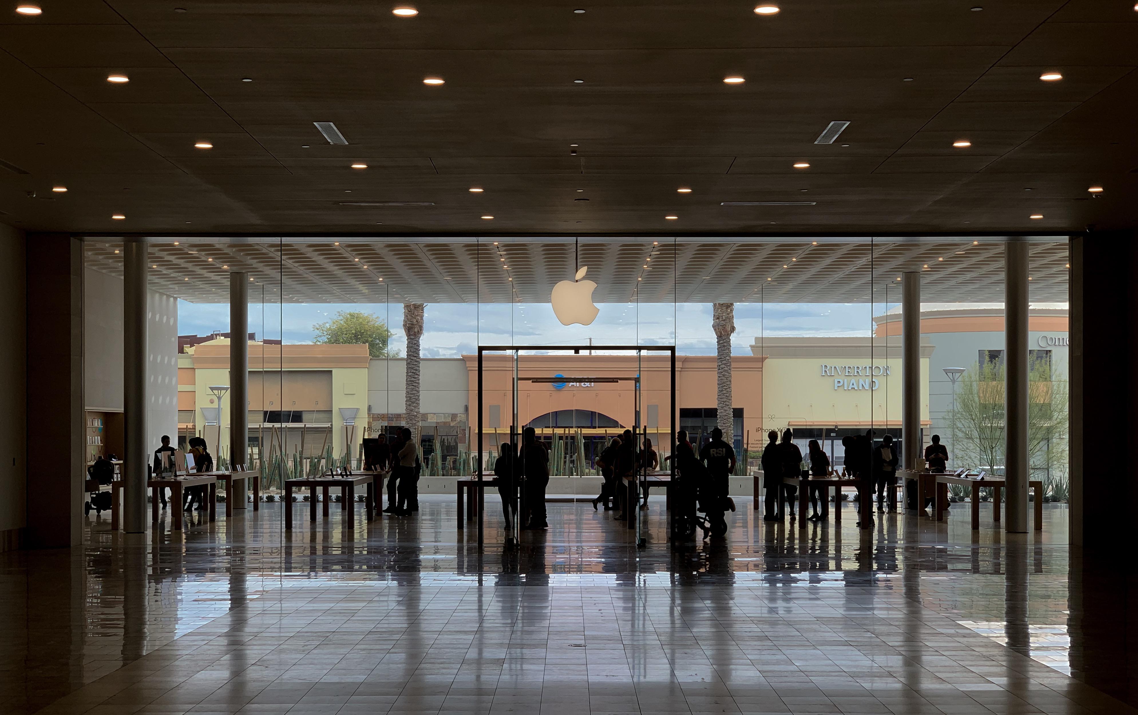 modern Apple Store