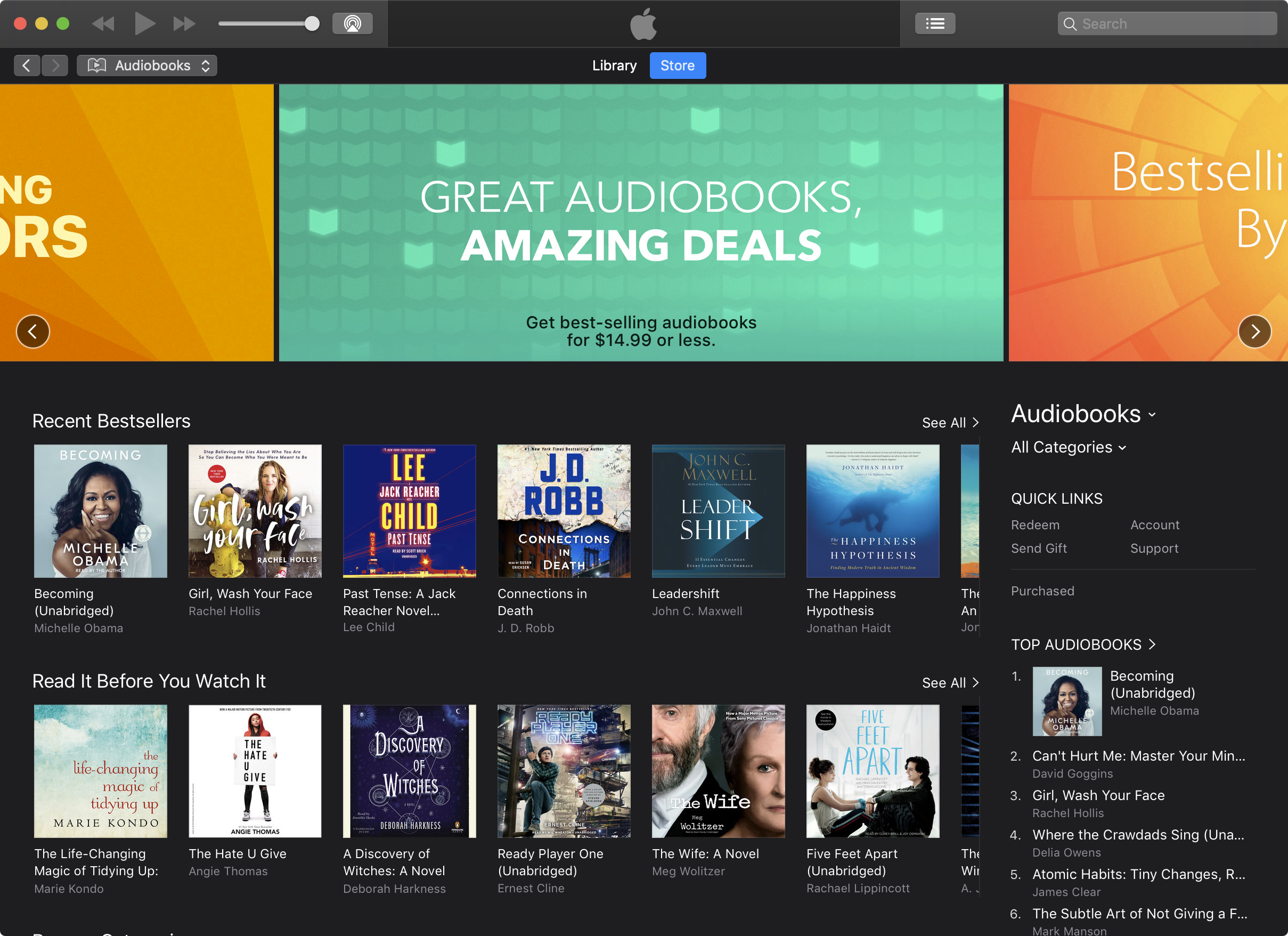 Opinion: Apple's audiobooks experience could benefit from a