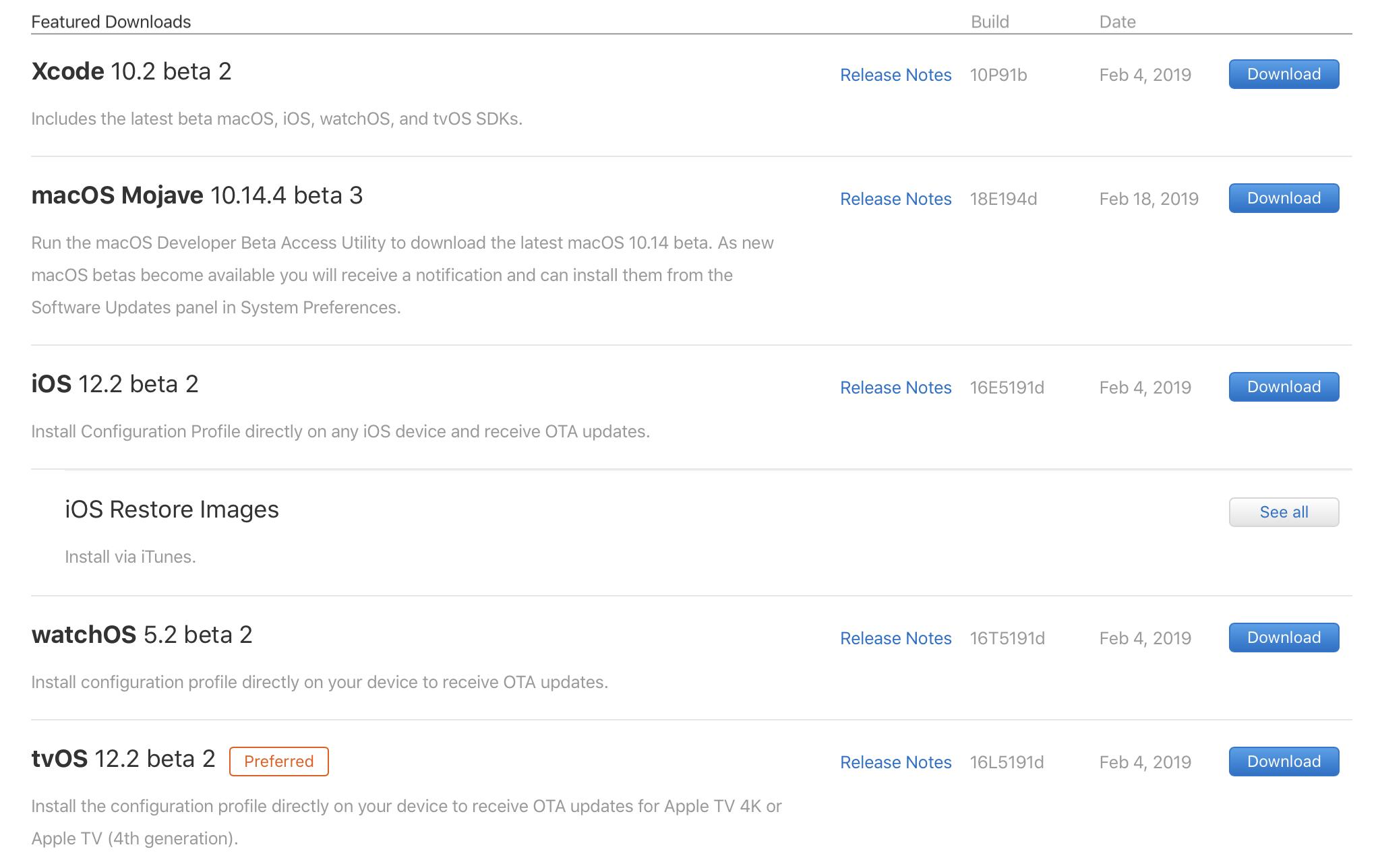 macOS 10.14.4 beta 3
