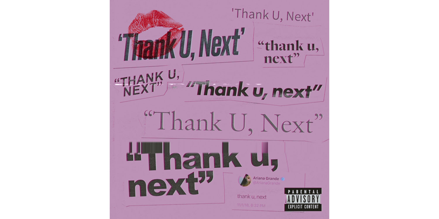 photo of Ariana Grande's latest album – thank u, next – sets two new Apple Music records image
