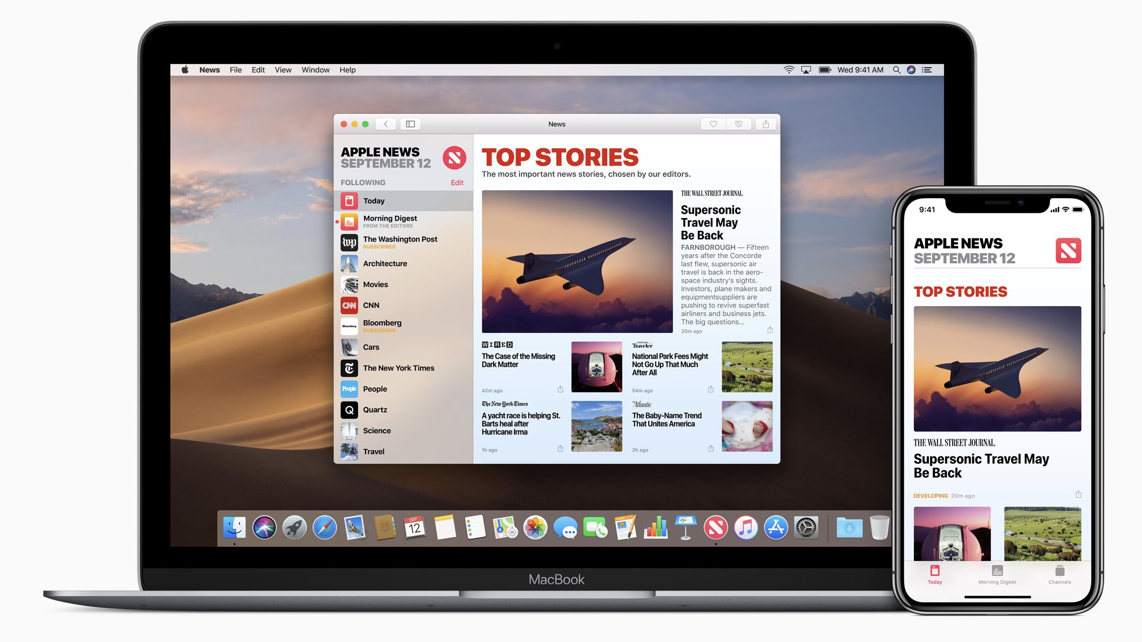 new Apple News service