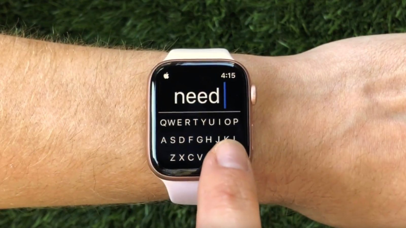 FlickType gesture keyboard for Apple Watch launches SDK for third-party app integration
