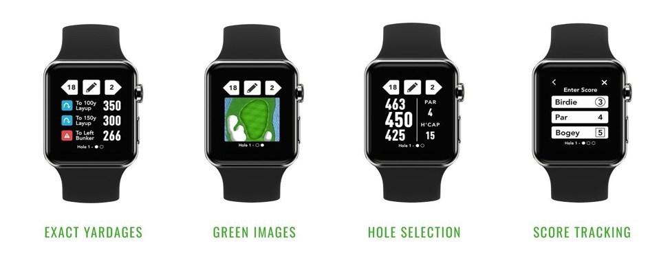 GolfLogix Apple Watch app