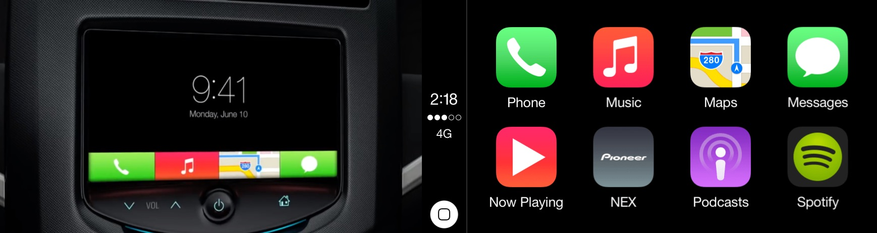 Before CarPlay, Apple previewed 'iOS in the Car' with a very