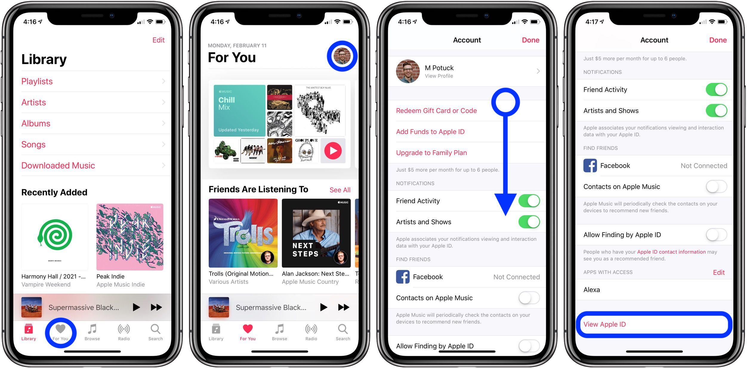 cancel Apple Music subscription walkthrough 1