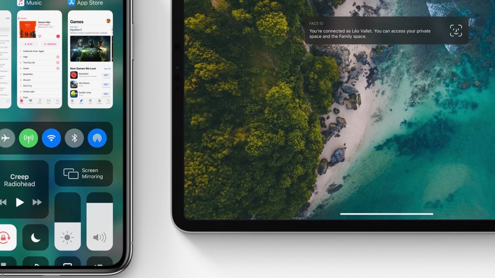 iOS 13 Concept Imagines New Volume UI, Control Center Multitasking, iPad Mouse Support, More